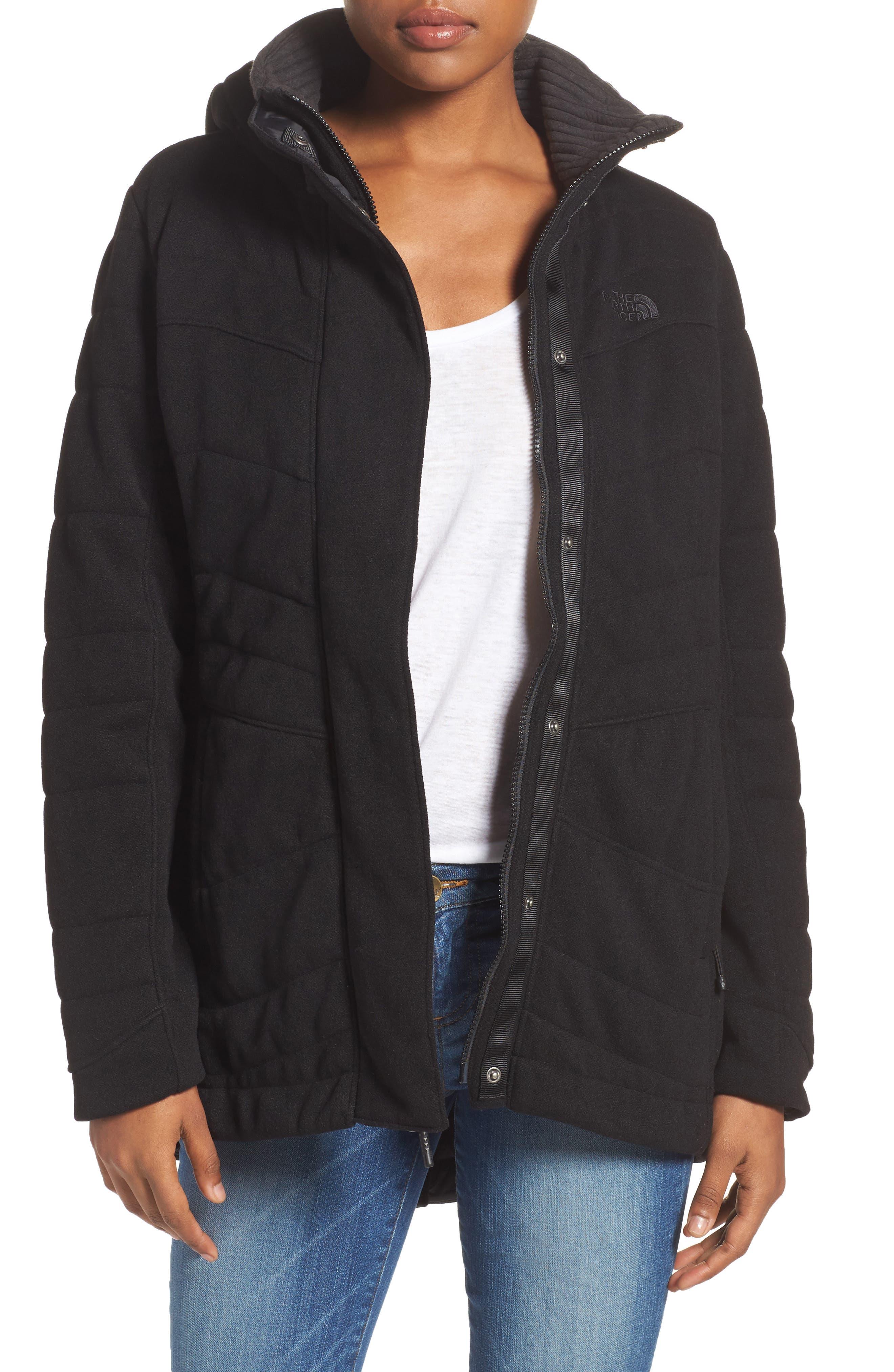 Indi Fleece Jacket,                             Main thumbnail 1, color,                             001