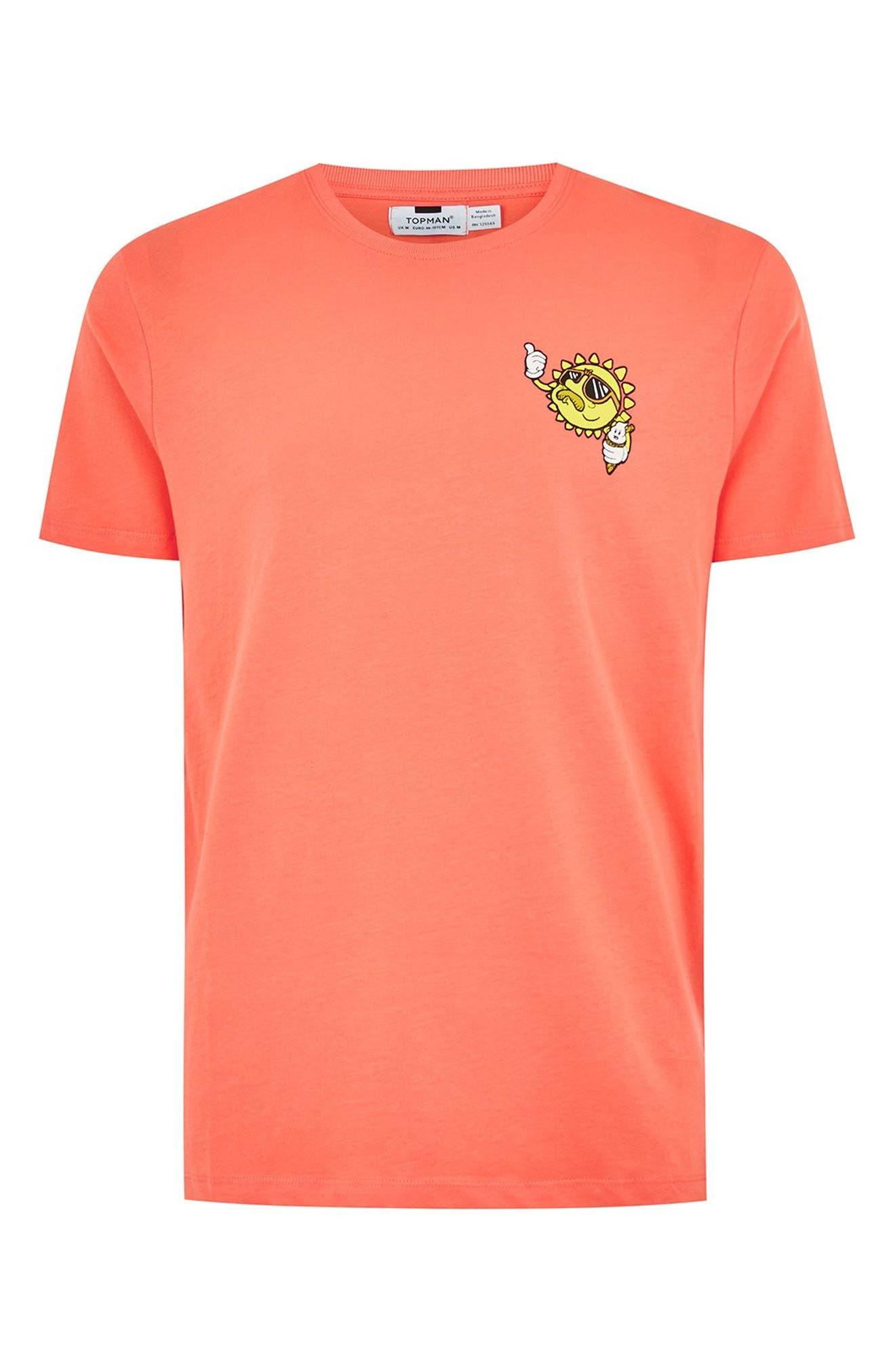 Sun T-Shirt,                             Alternate thumbnail 4, color,                             PINK