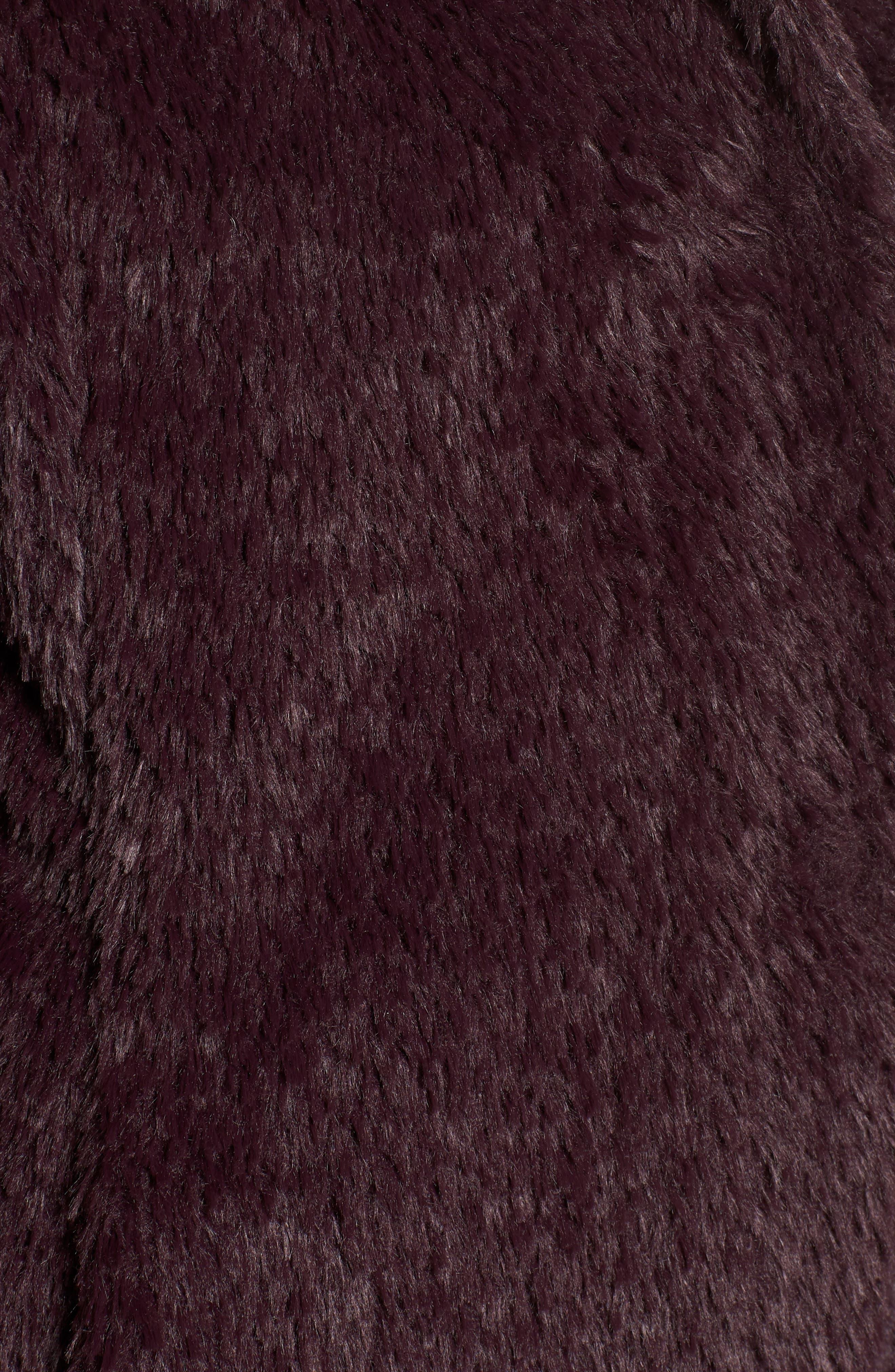 Faux Fur Jacket,                             Alternate thumbnail 34, color,