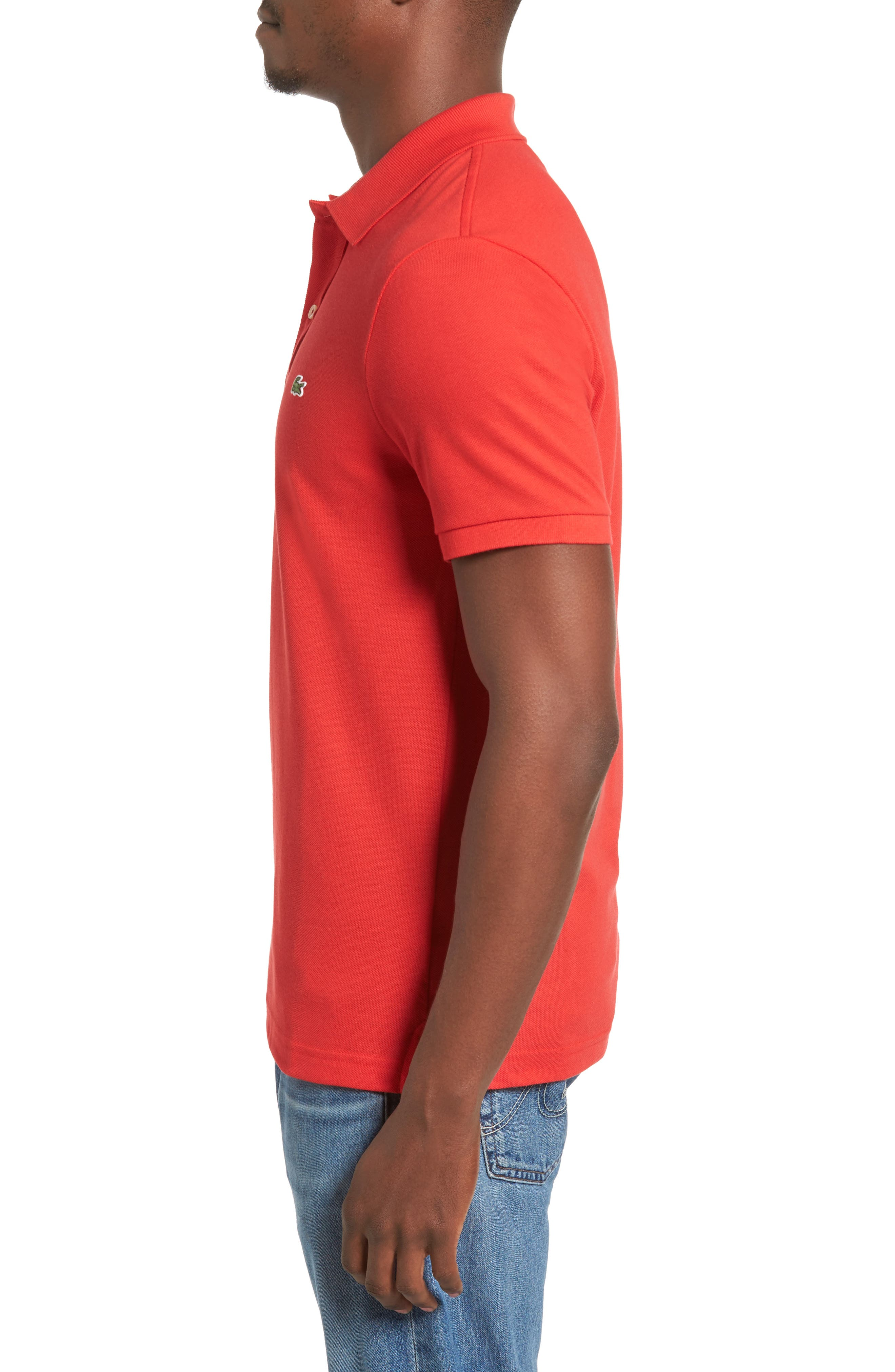 Slim Fit Piqué Polo,                             Alternate thumbnail 34, color,