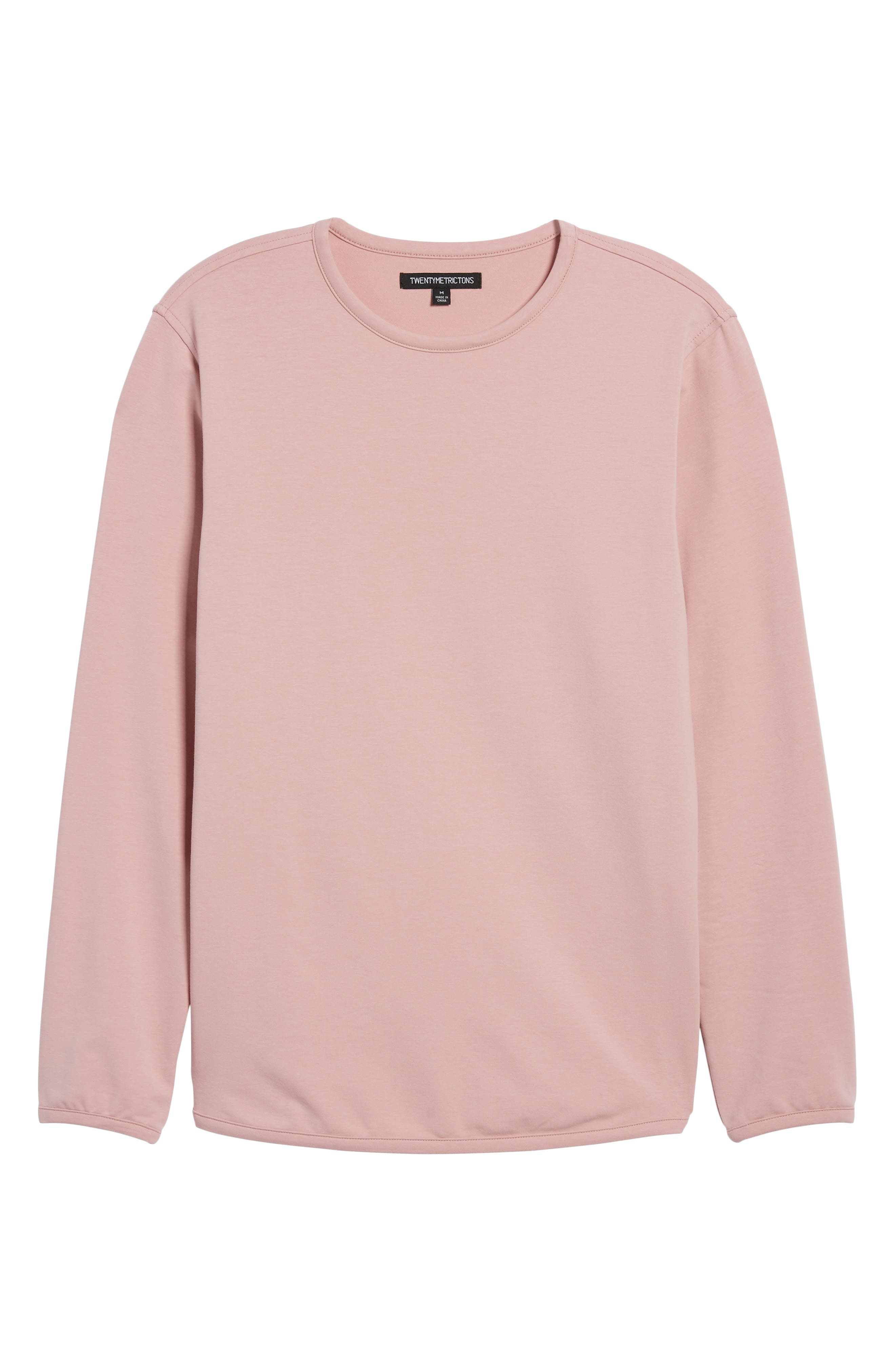Trim Fit Long Sleeve T-Shirt,                             Alternate thumbnail 18, color,