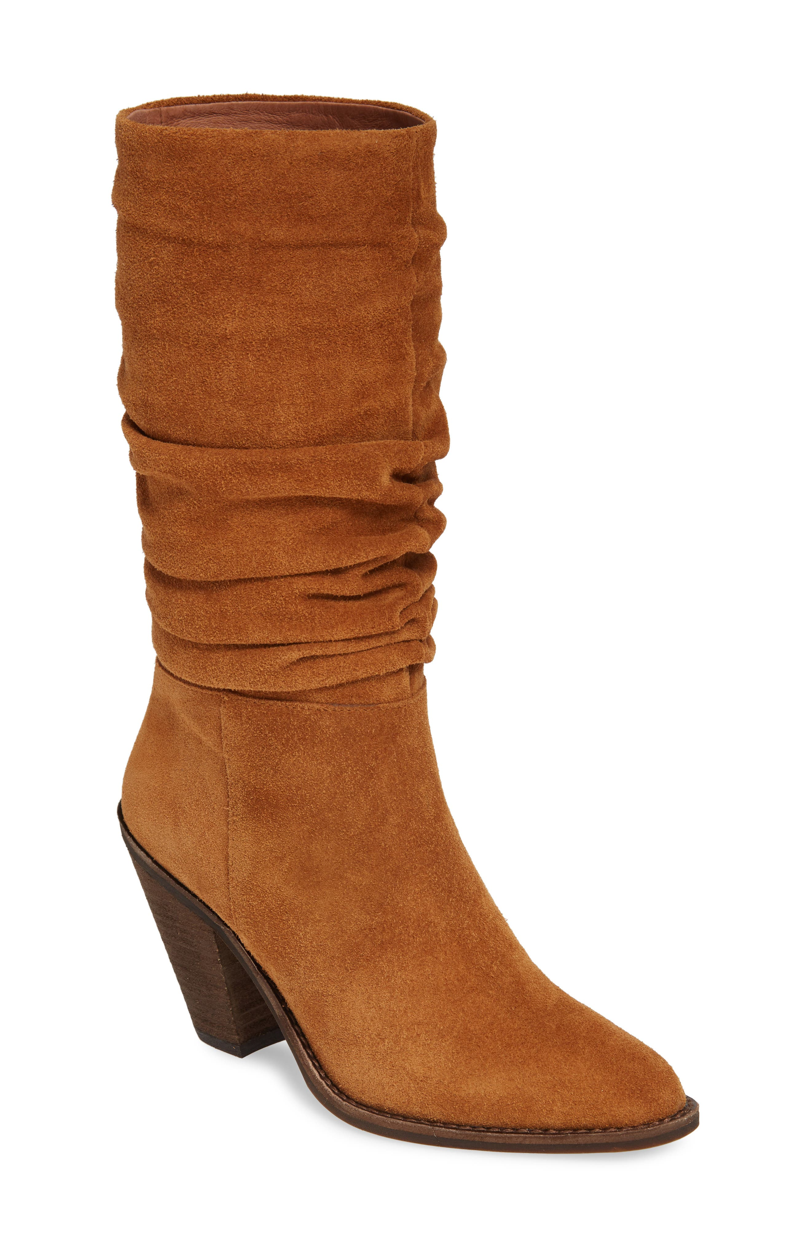 Jeffrey Campbell Audie Slouchy Boot, Brown