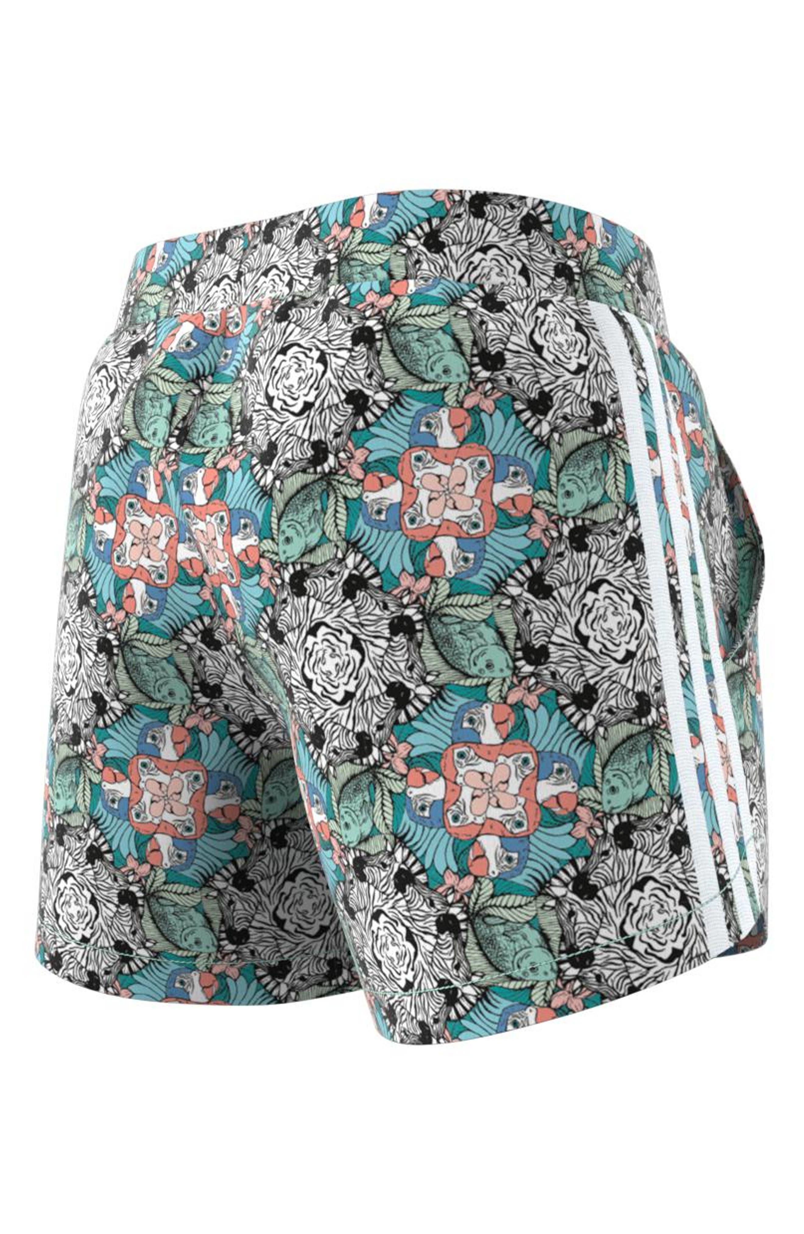 Zoo Shorts,                             Alternate thumbnail 8, color,                             MULTI-COLOR / WHITE