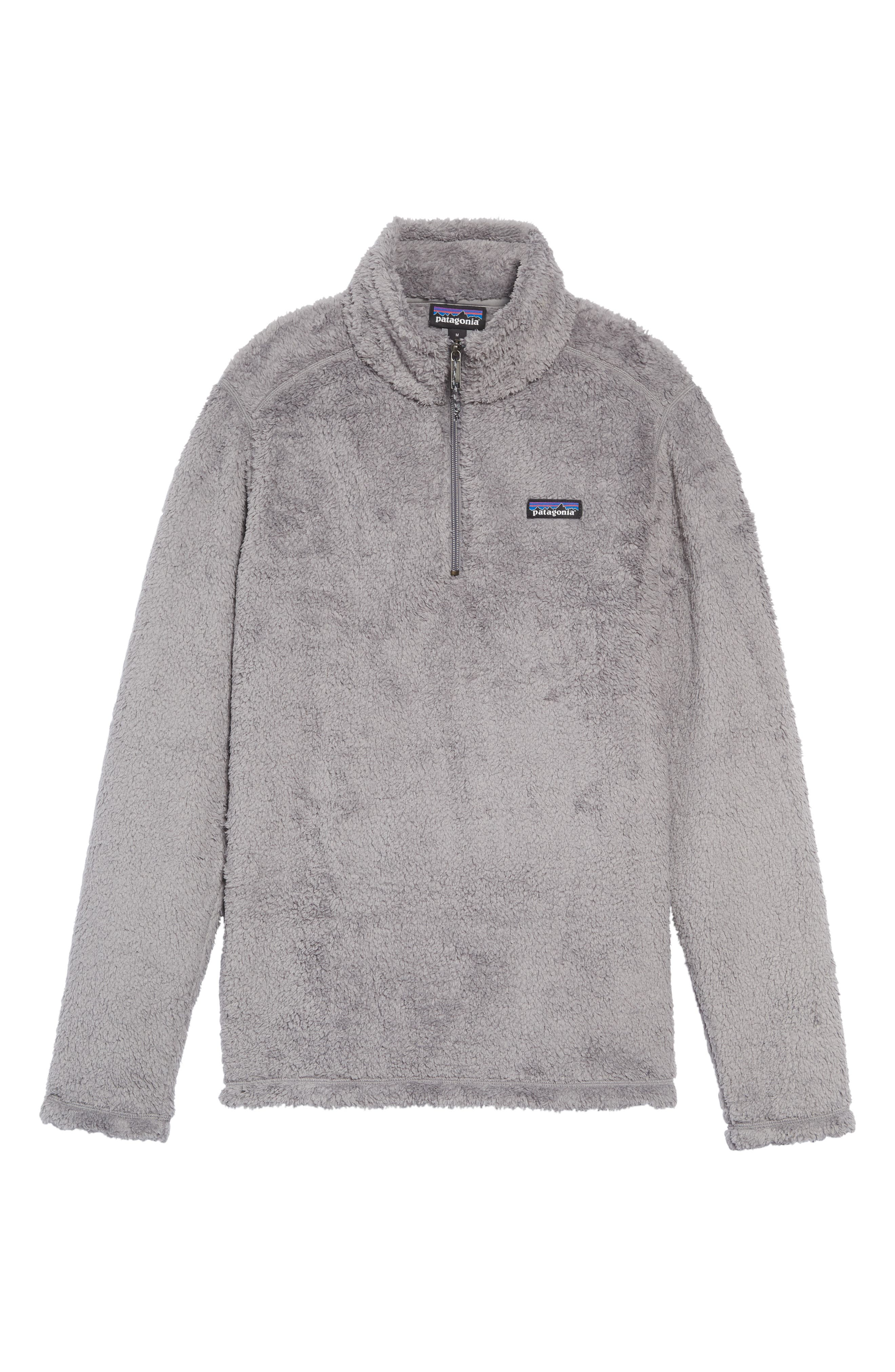 Los Gatos Quarter Zip Pullover,                             Alternate thumbnail 6, color,                             FEATHER GREY