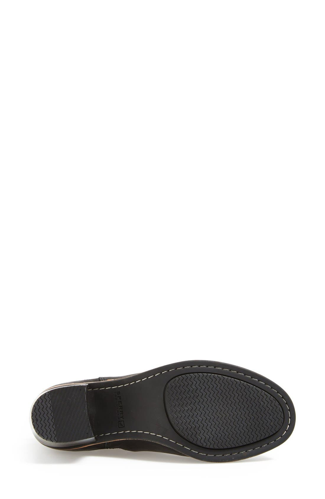 SPERRY,                             Top-Sider<sup>®</sup> 'Liberty' Leather Bootie,                             Alternate thumbnail 2, color,                             001