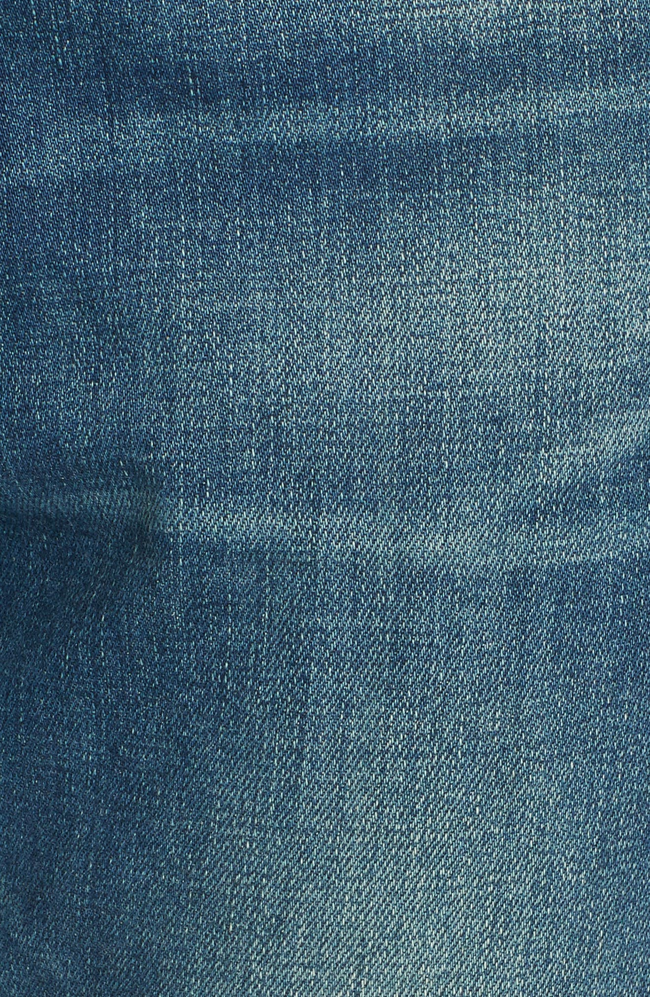 Le Garcon Slim Boyfriend Jeans,                             Alternate thumbnail 6, color,                             BERKLEY SQUARE
