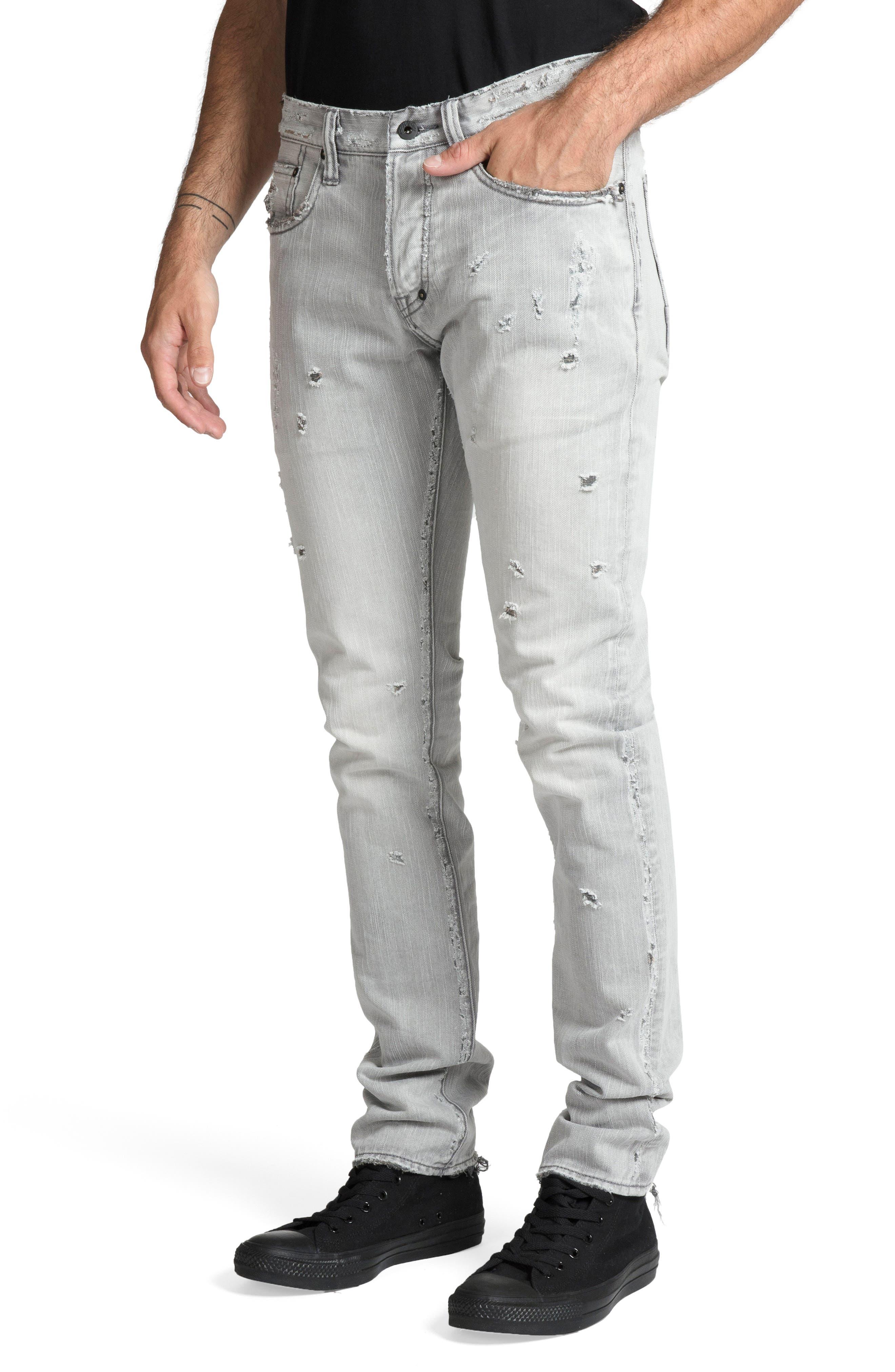 Le Sabre Slim Fit Jeans,                             Alternate thumbnail 3, color,                             LOUTISH