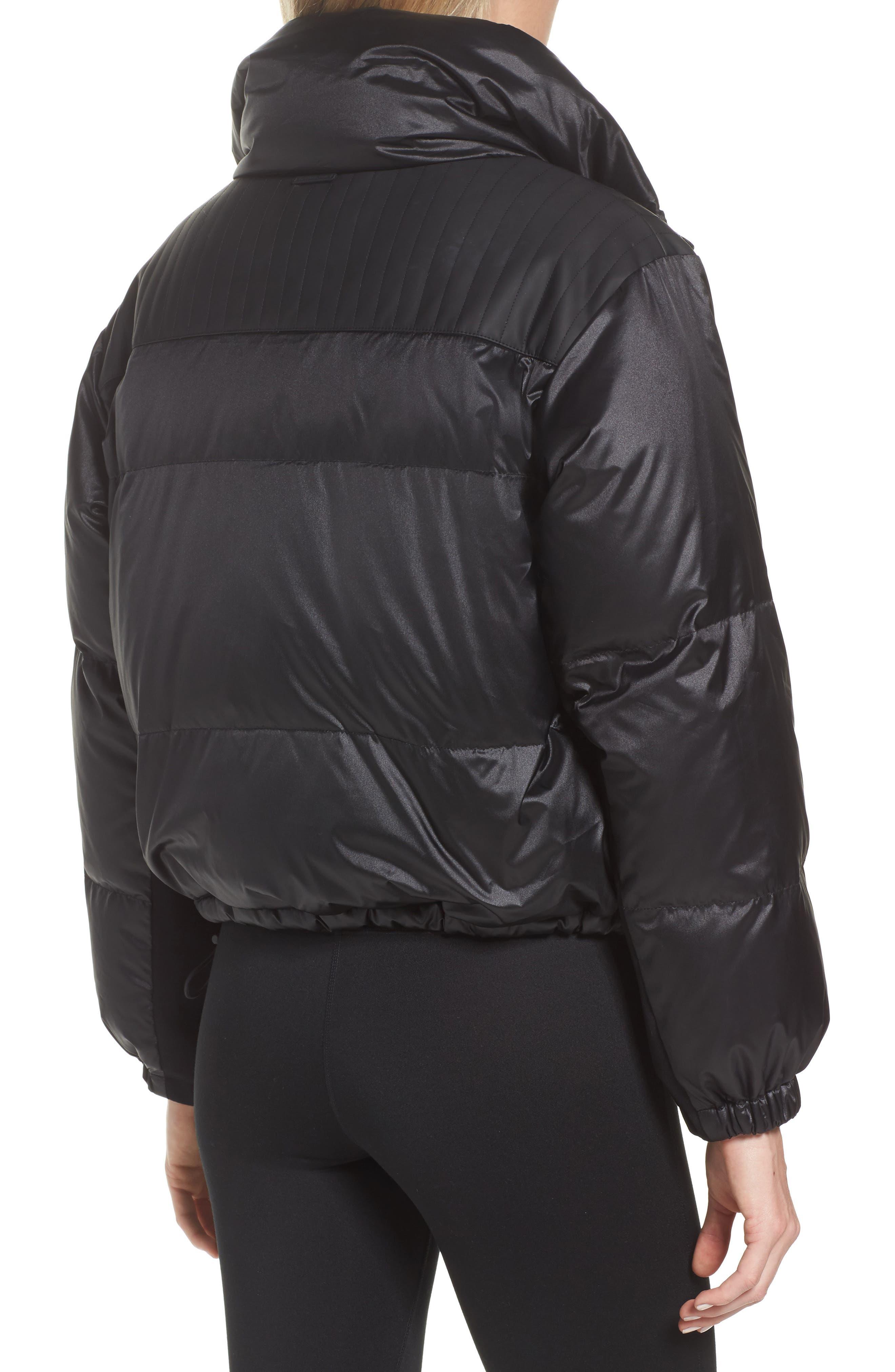 Reversible Puffer Jacket,                             Alternate thumbnail 3, color,                             001