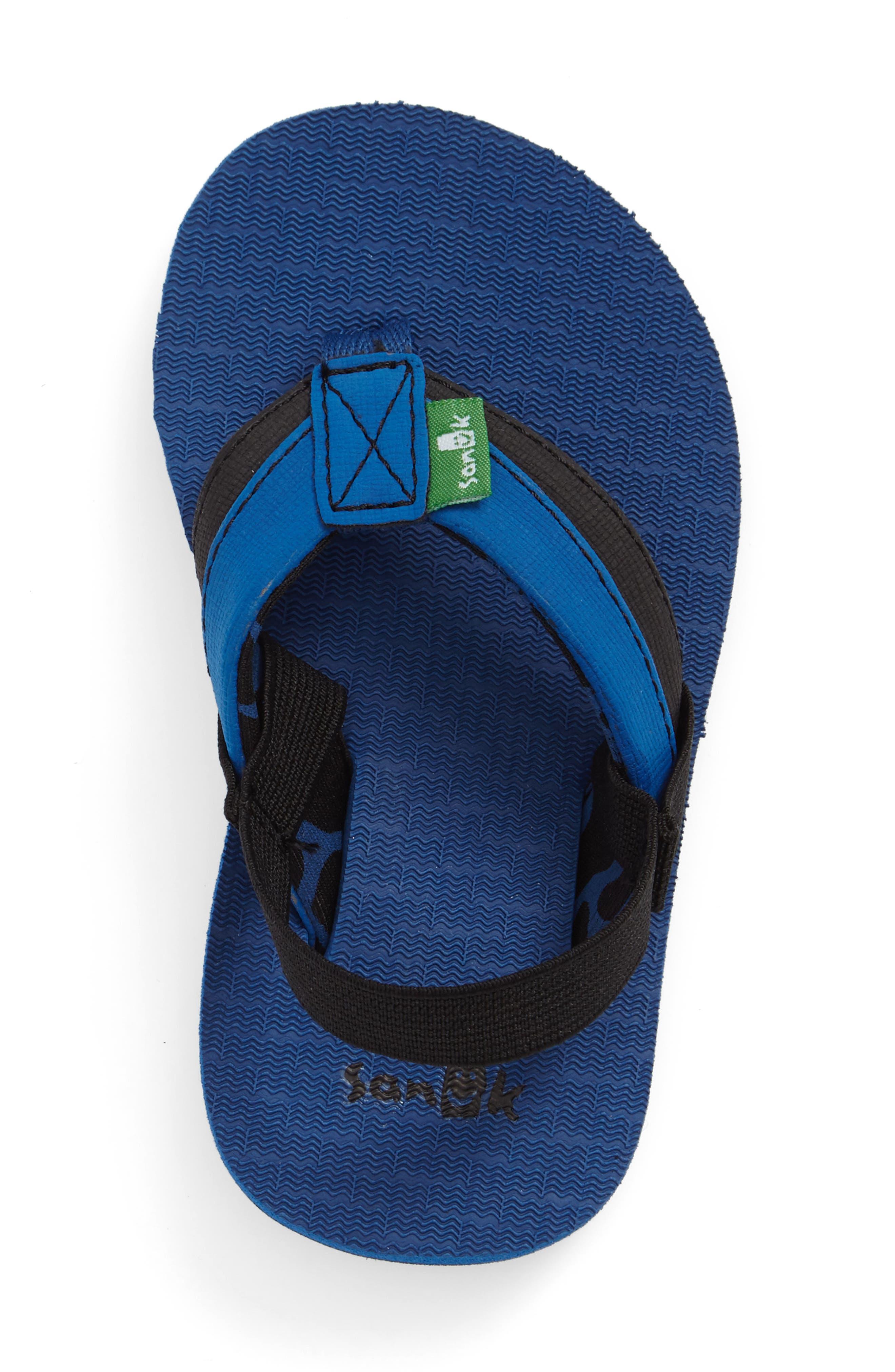 'Rootbeer Cozy' Lightweight Flip Flop Sandal,                             Alternate thumbnail 14, color,