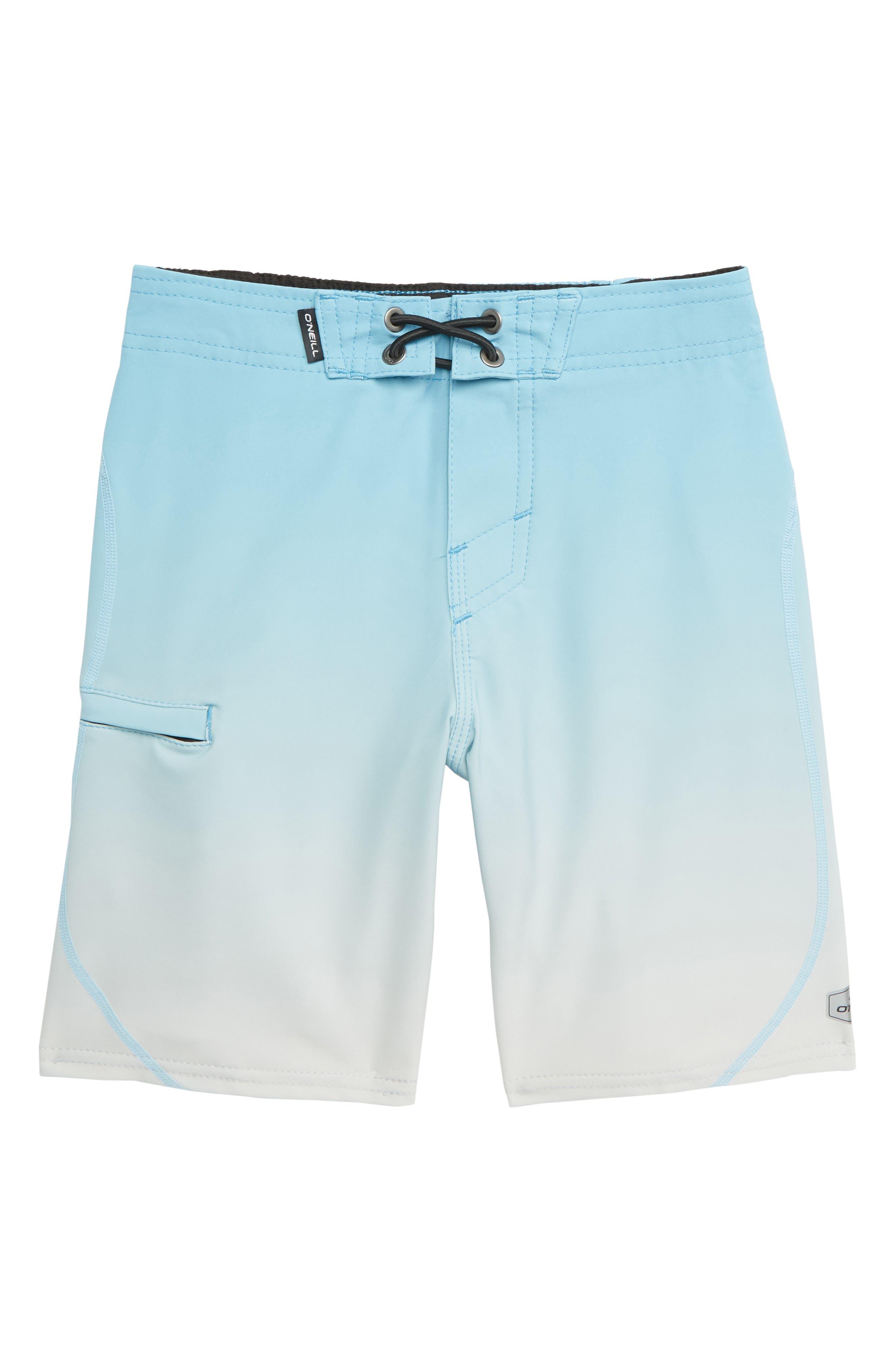 O'NEILL,                             Hyperfreak Board Shorts,                             Main thumbnail 1, color,                             CYAN