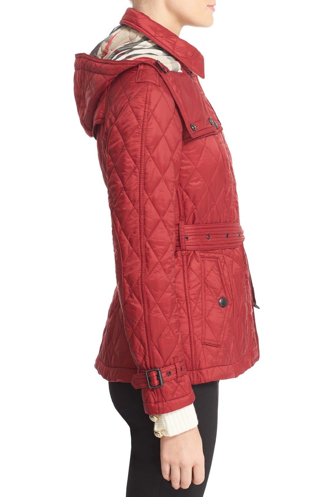 Finsbridge ShortQuilted Jacket,                             Alternate thumbnail 16, color,