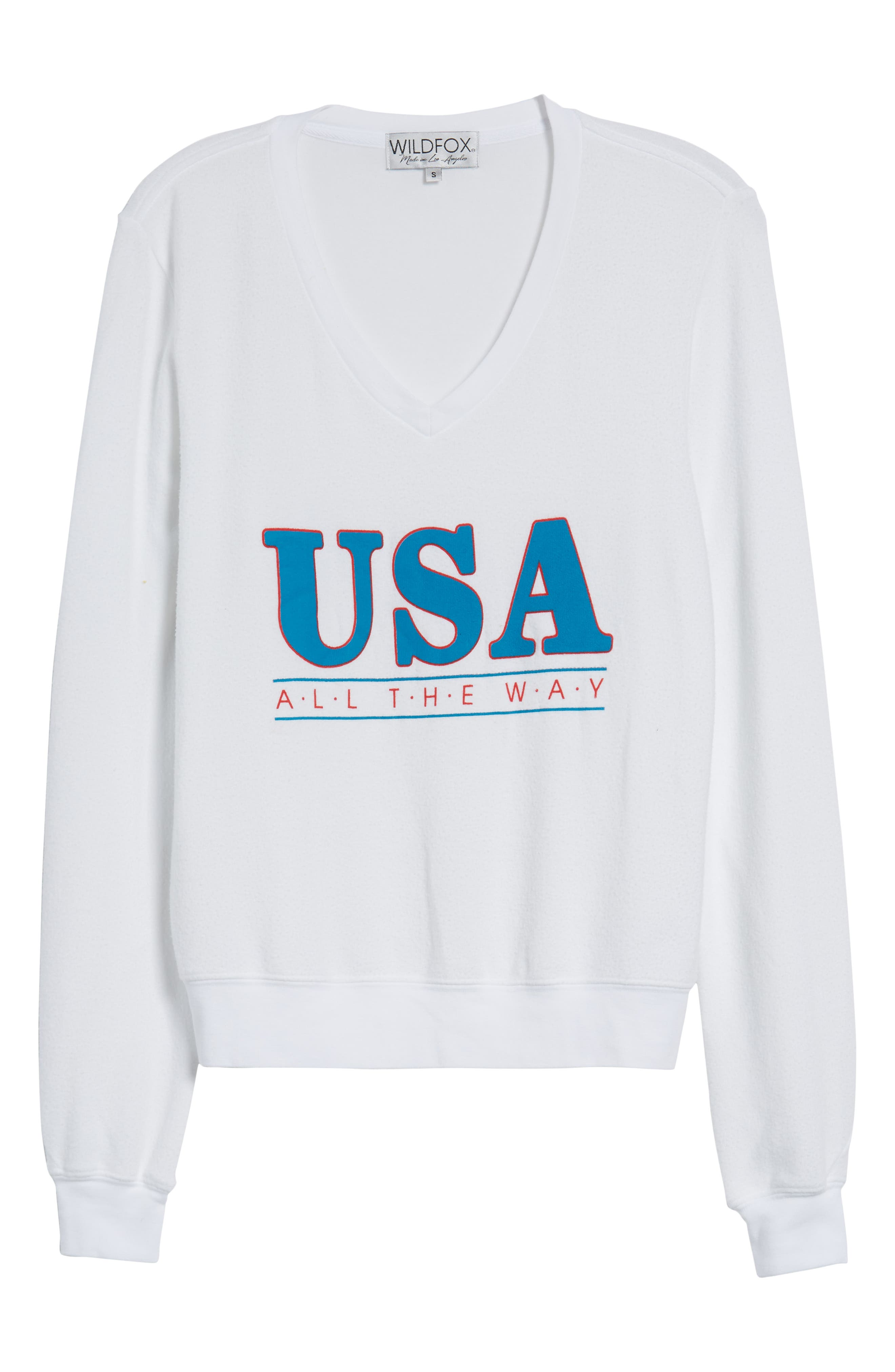 All the Way Baggy Beach Pullover,                             Alternate thumbnail 7, color,                             CLEAN WHITE