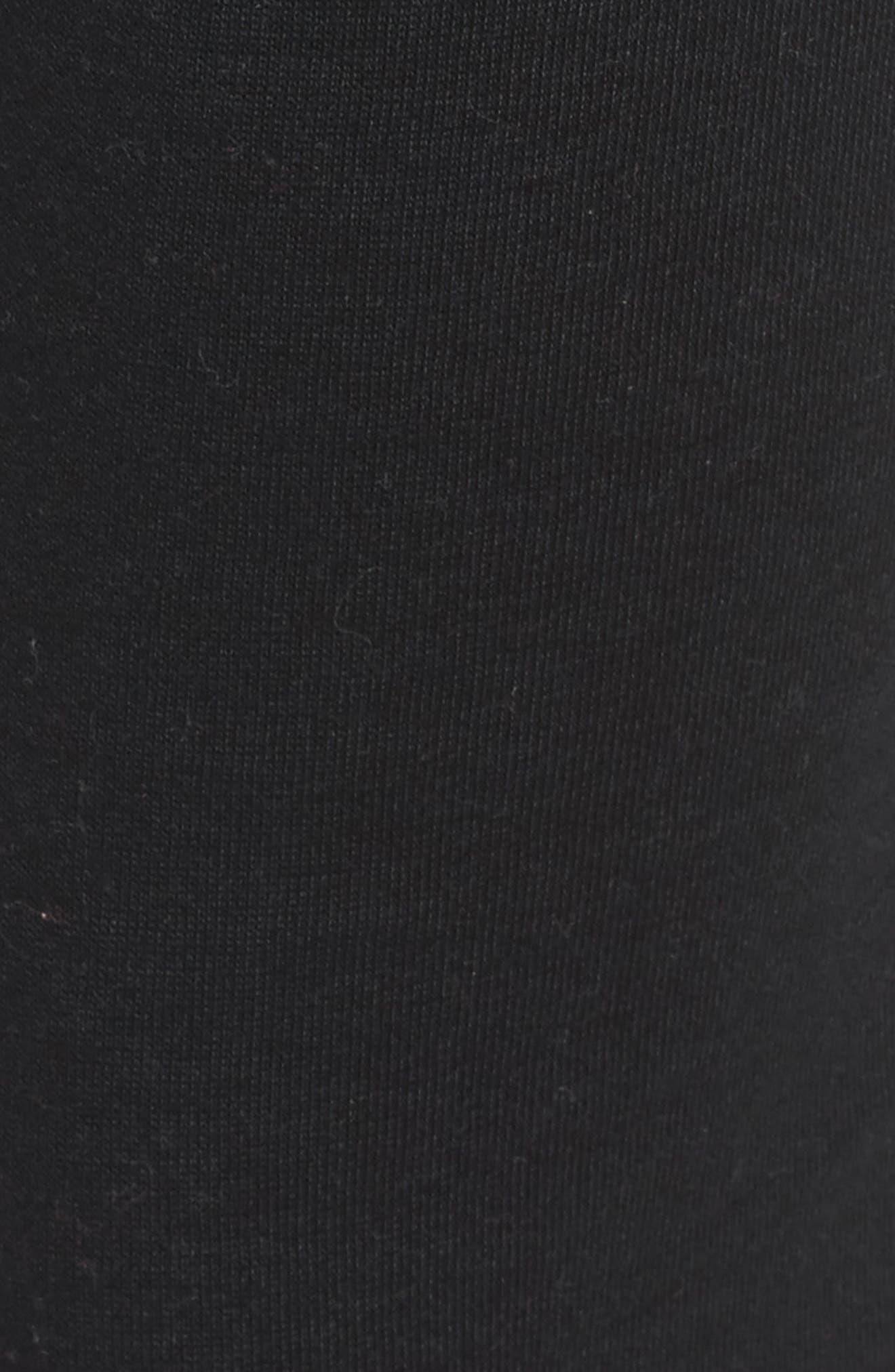 Long Weekend Pants,                             Alternate thumbnail 5, color,                             TRUE BLACK