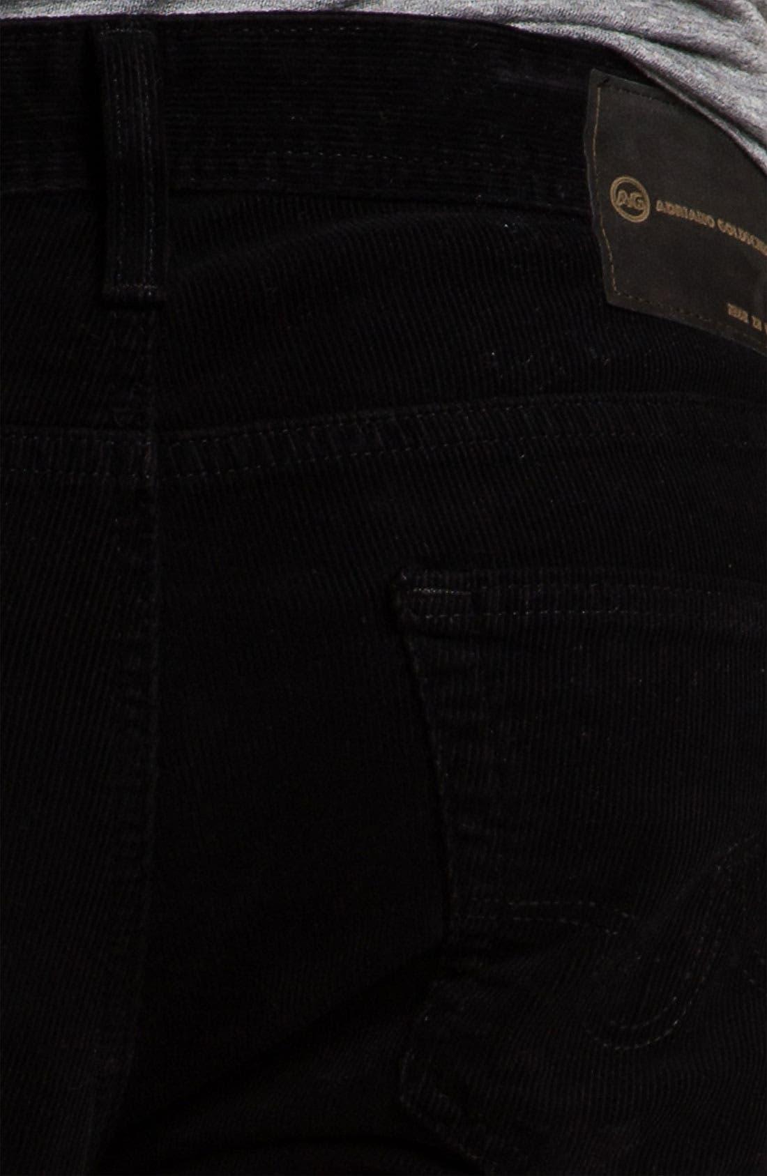 Jeans 'Matchbox' Slim Straight Leg Corduroy Pants,                             Alternate thumbnail 2, color,                             010