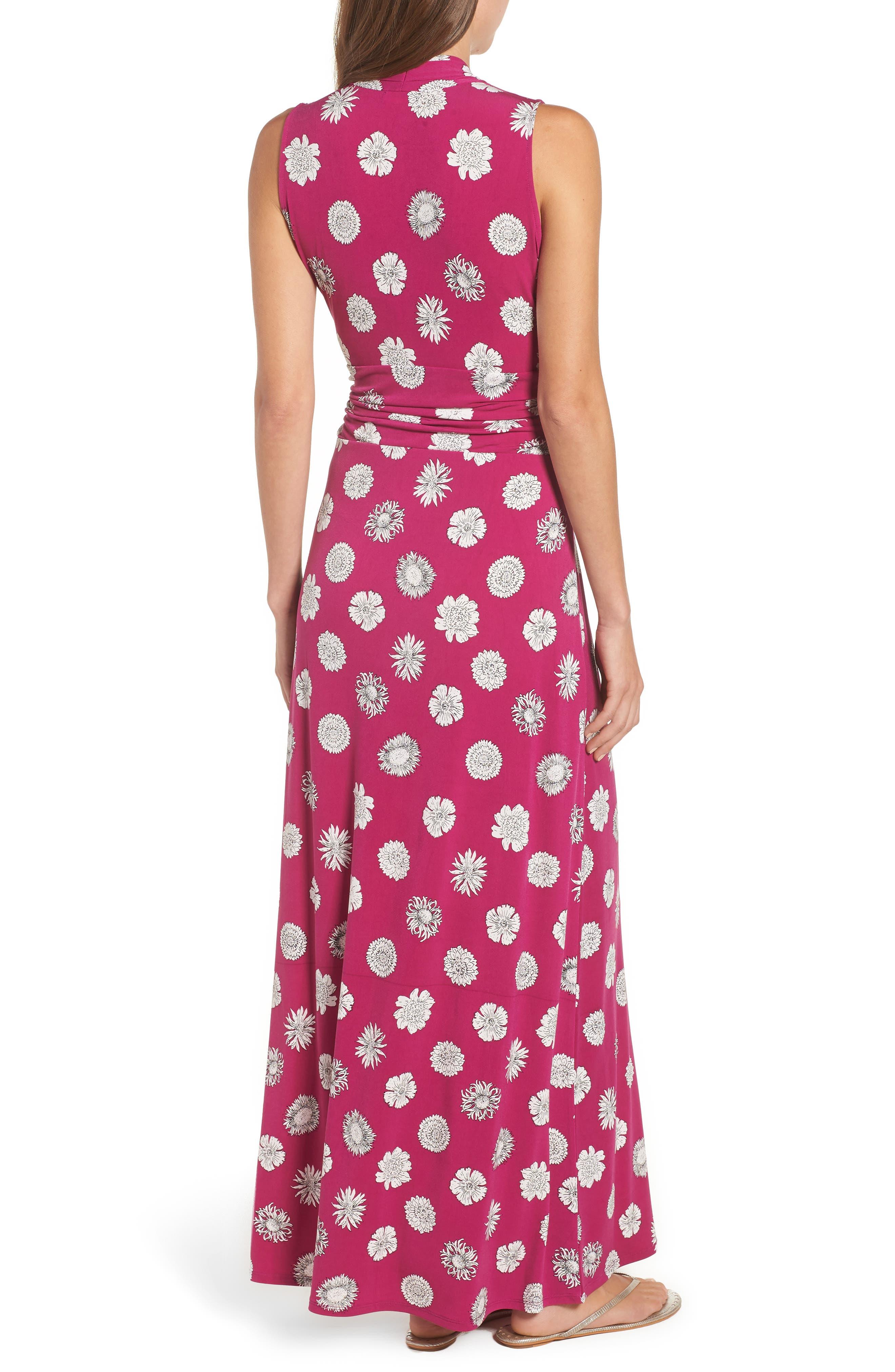 Botanical Tropics Halter Maxi Dress,                             Alternate thumbnail 4, color,