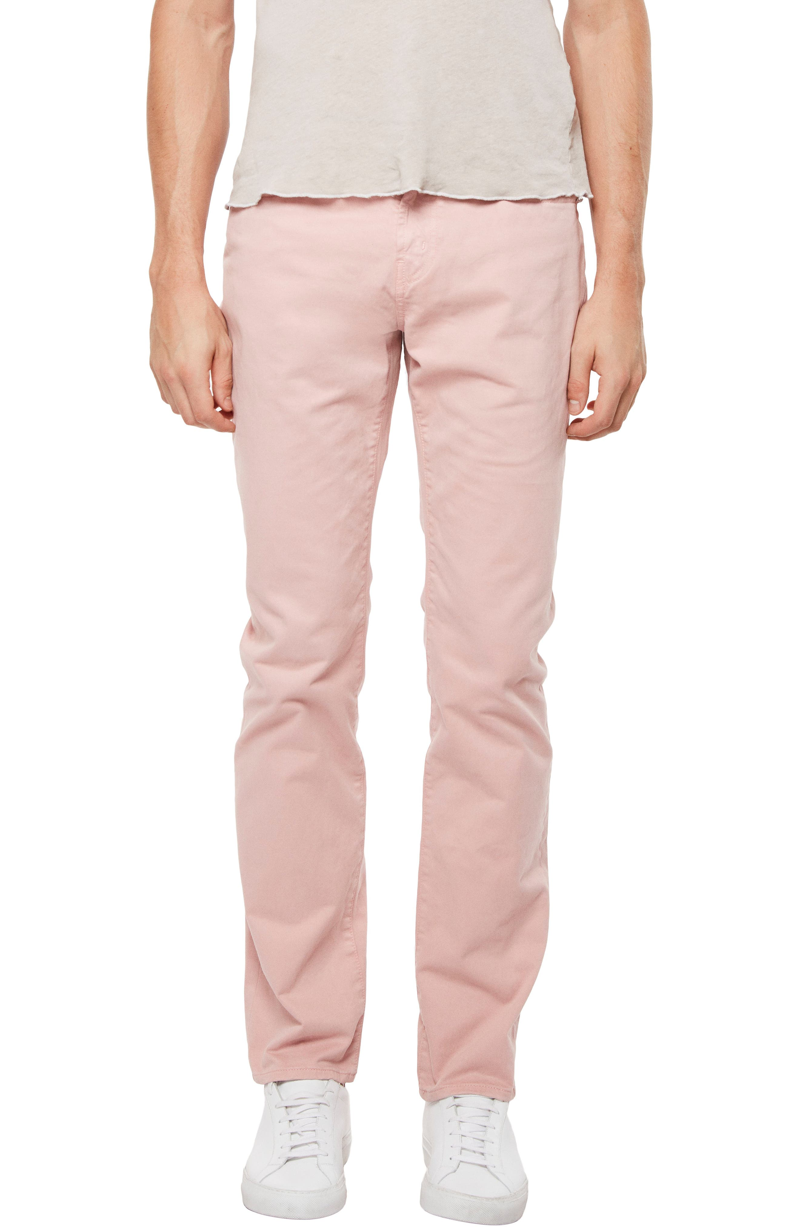'Kane' Slim Fit Cotton Twill Pants,                             Main thumbnail 3, color,