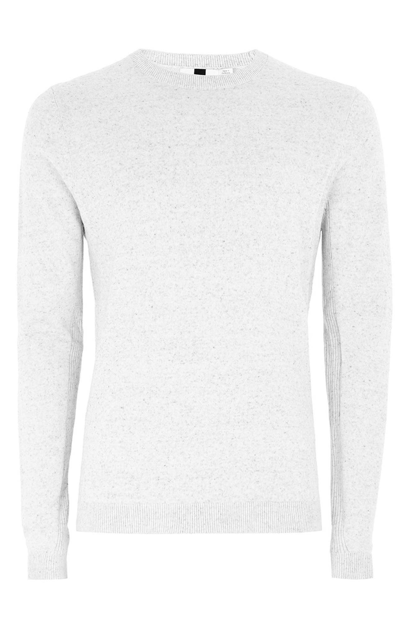 Side Ribbed Slim Fit Sweater,                             Alternate thumbnail 31, color,