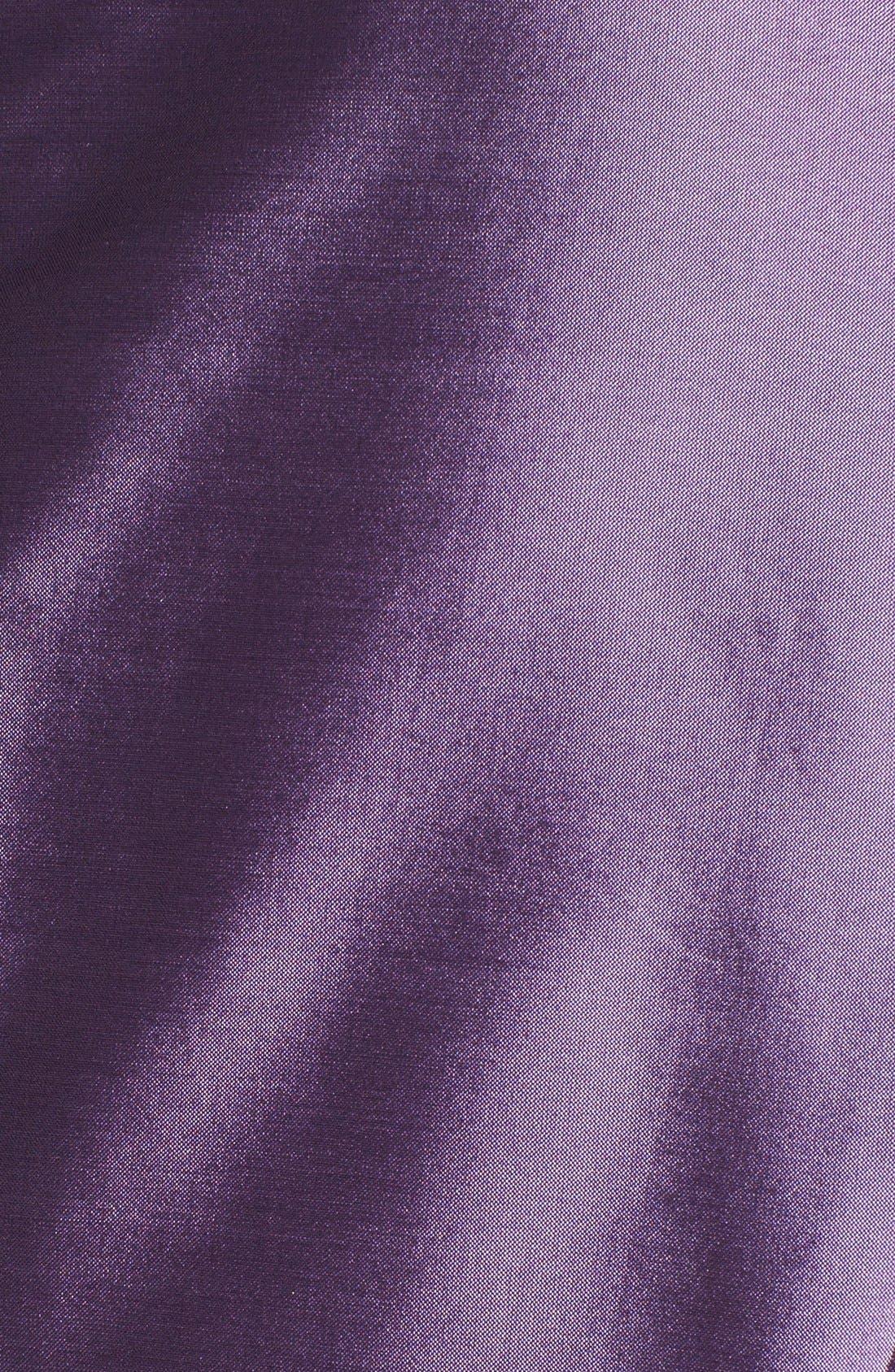 Taffeta Wrap Blouse,                             Alternate thumbnail 3, color,                             530