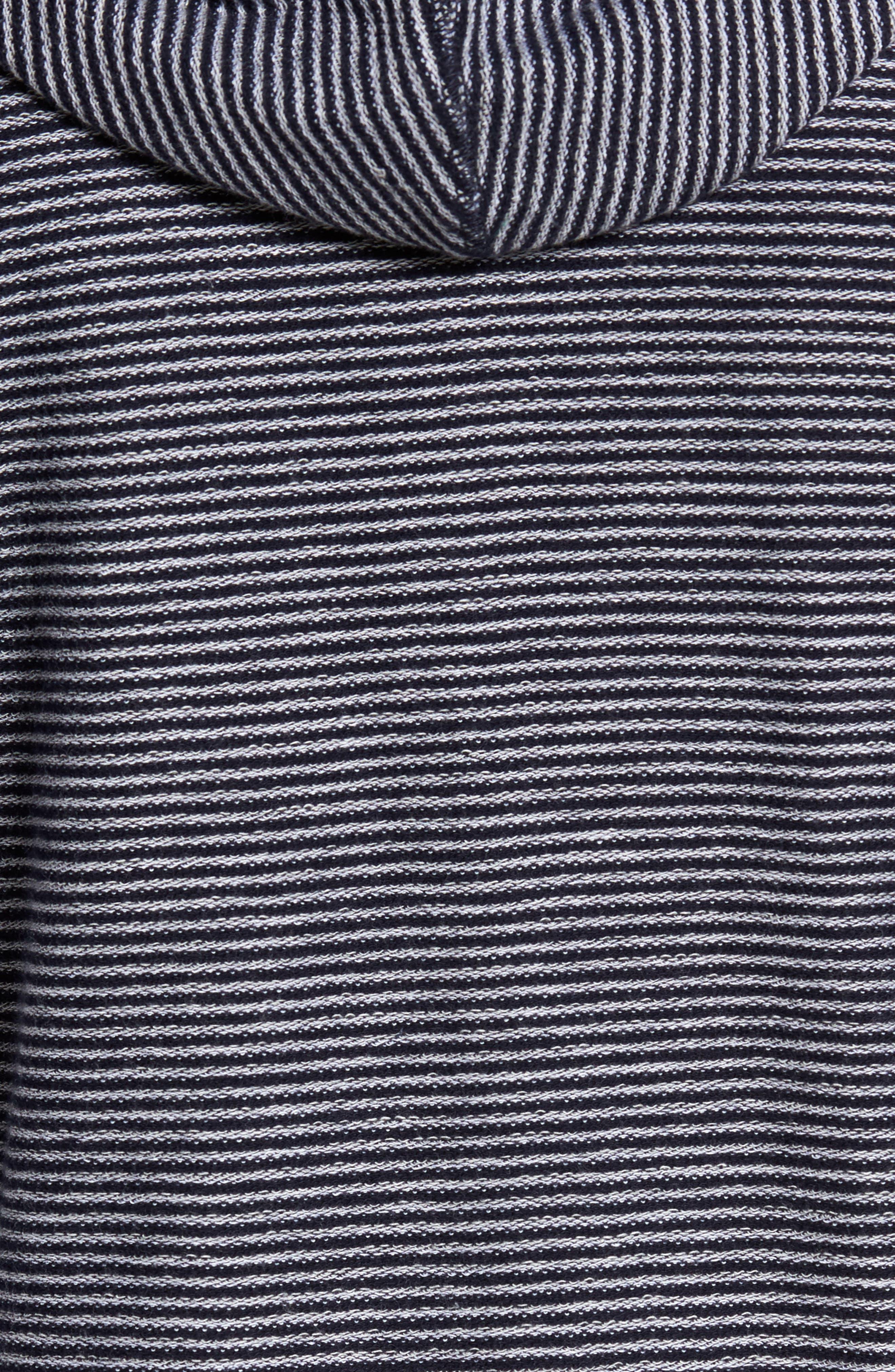Reverse Stripe Hoodie,                             Alternate thumbnail 5, color,                             410