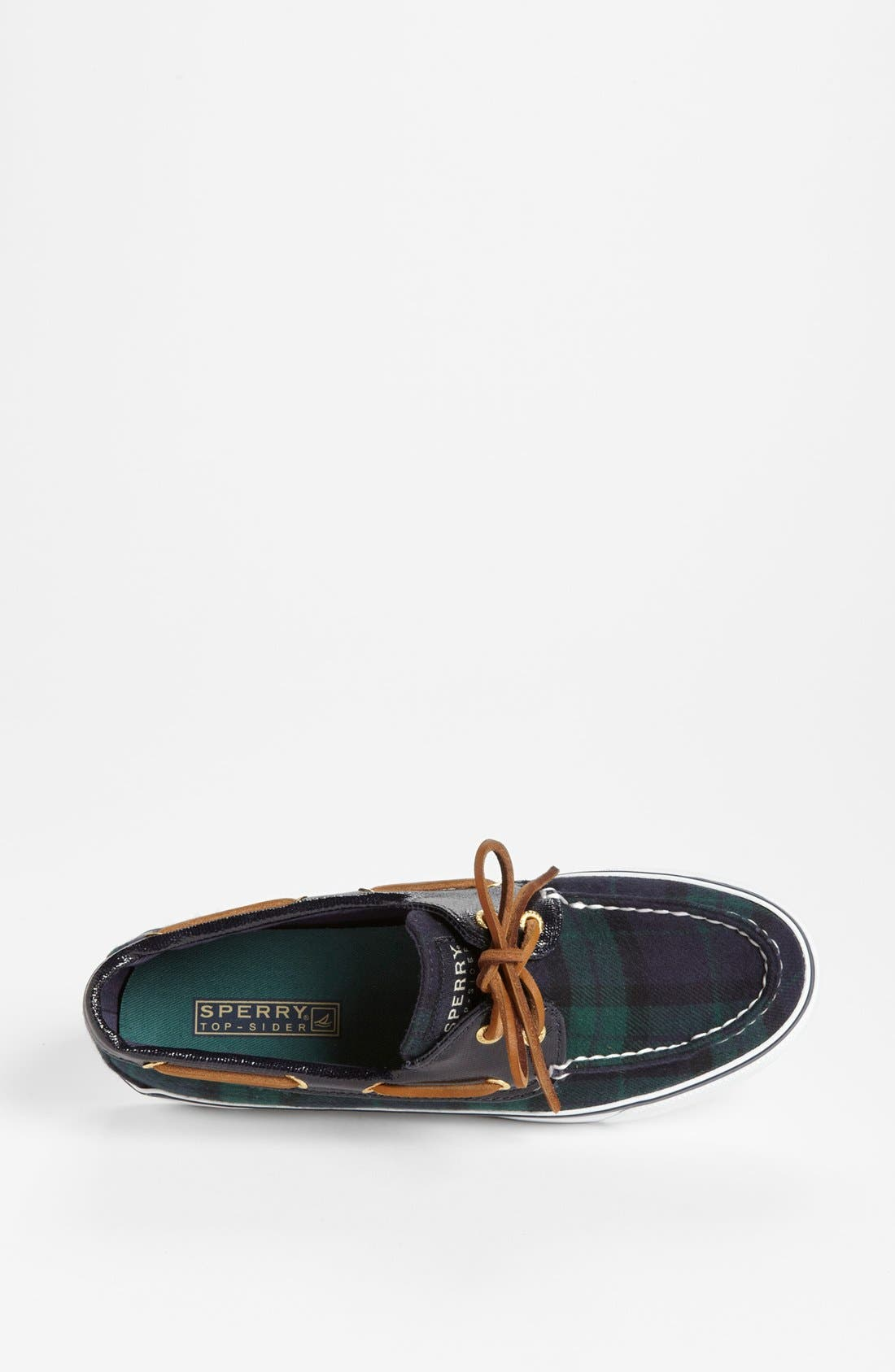 Top-Sider<sup>®</sup> 'Bahama' Sequined Boat Shoe,                             Alternate thumbnail 110, color,