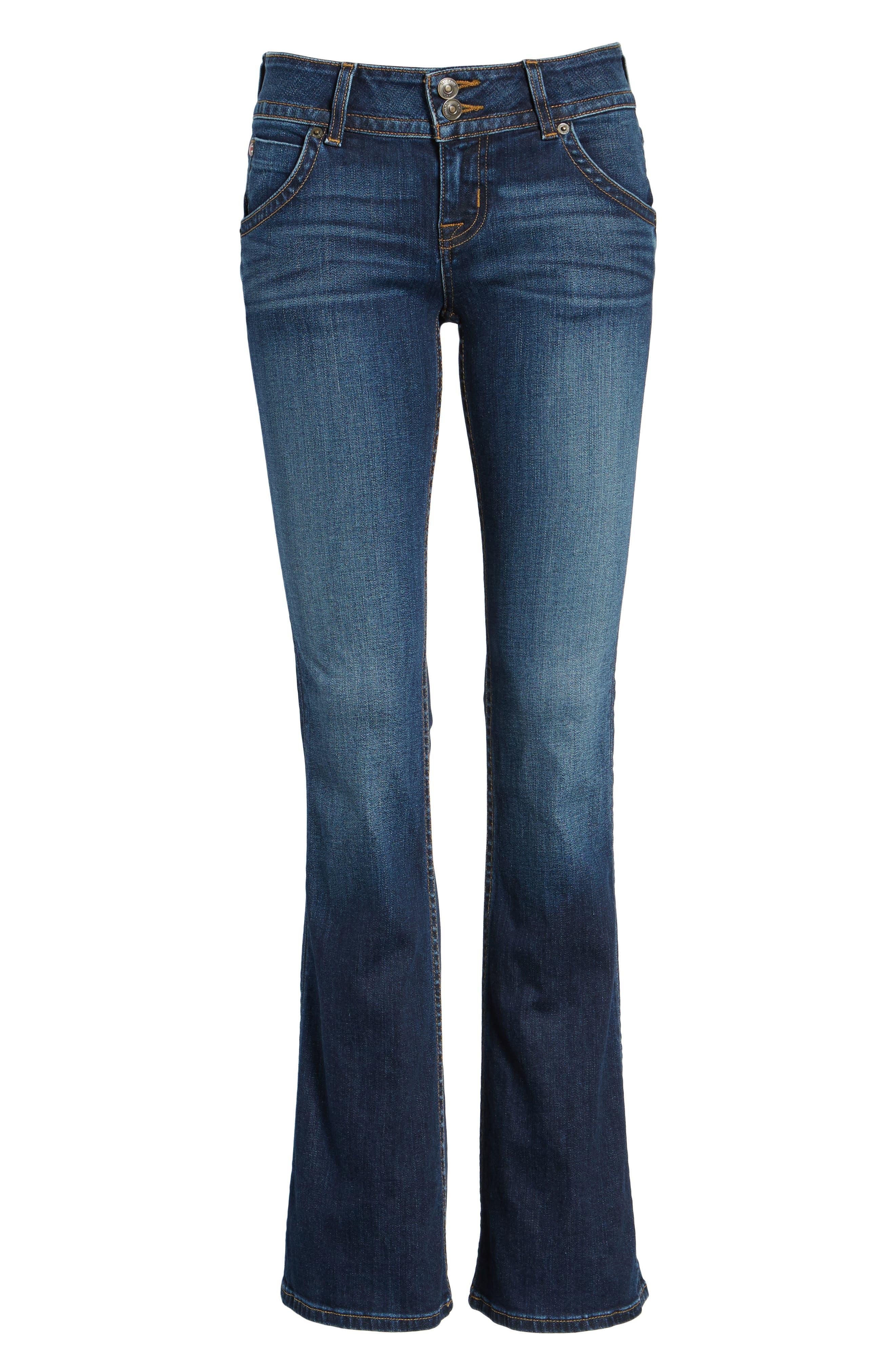 Signature Petite Bootcut Jeans,                             Alternate thumbnail 7, color,                             PATROL UNIT
