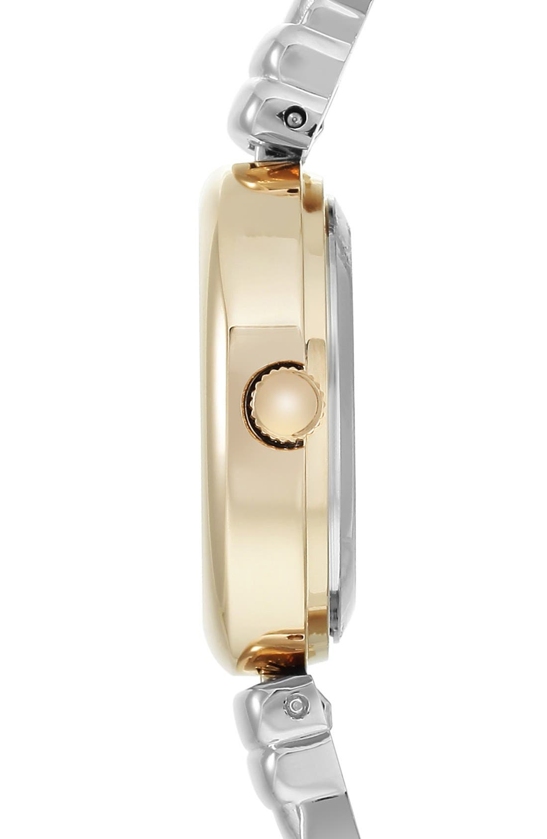 Diamond Dial Bangle Watch, 24mm,                             Alternate thumbnail 3, color,