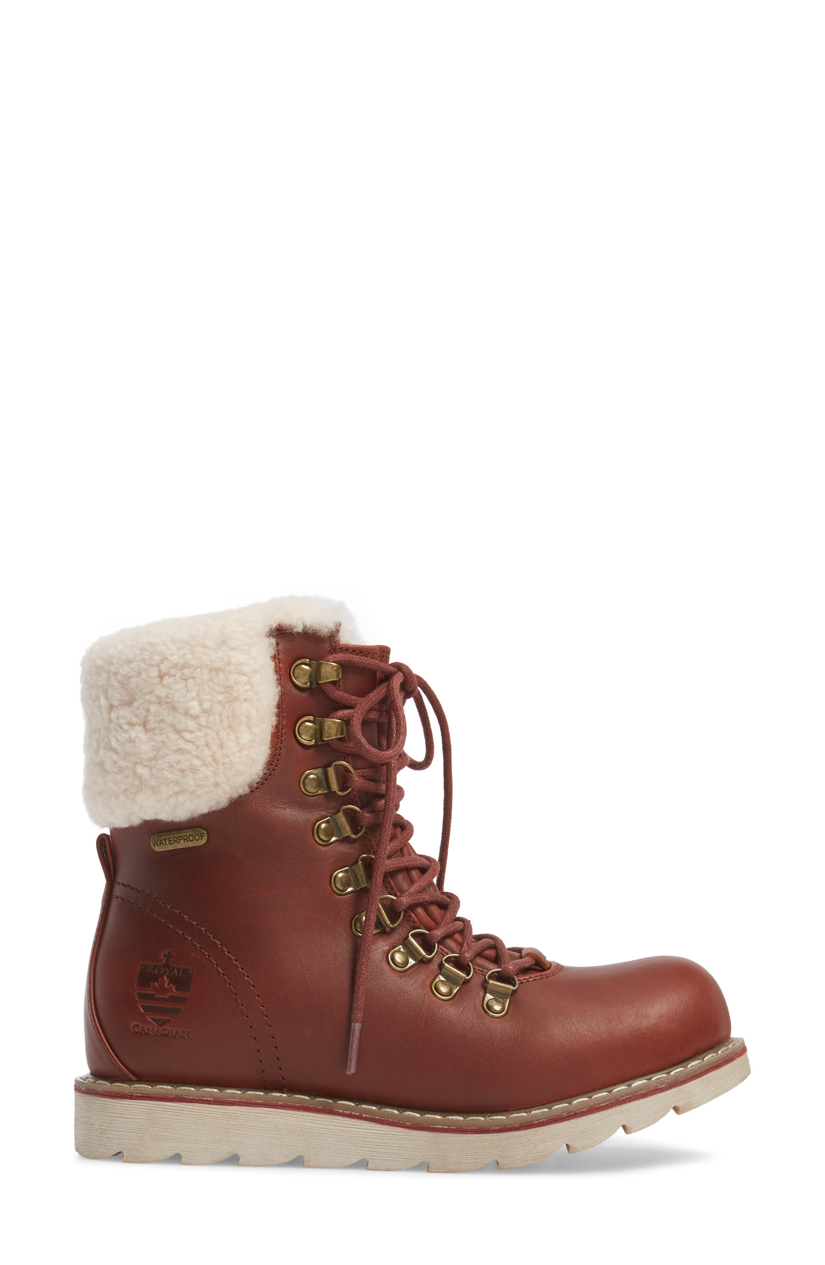 Lethbridge Waterproof Snow Boot with Genuine Shearling Cuff,                             Alternate thumbnail 11, color,