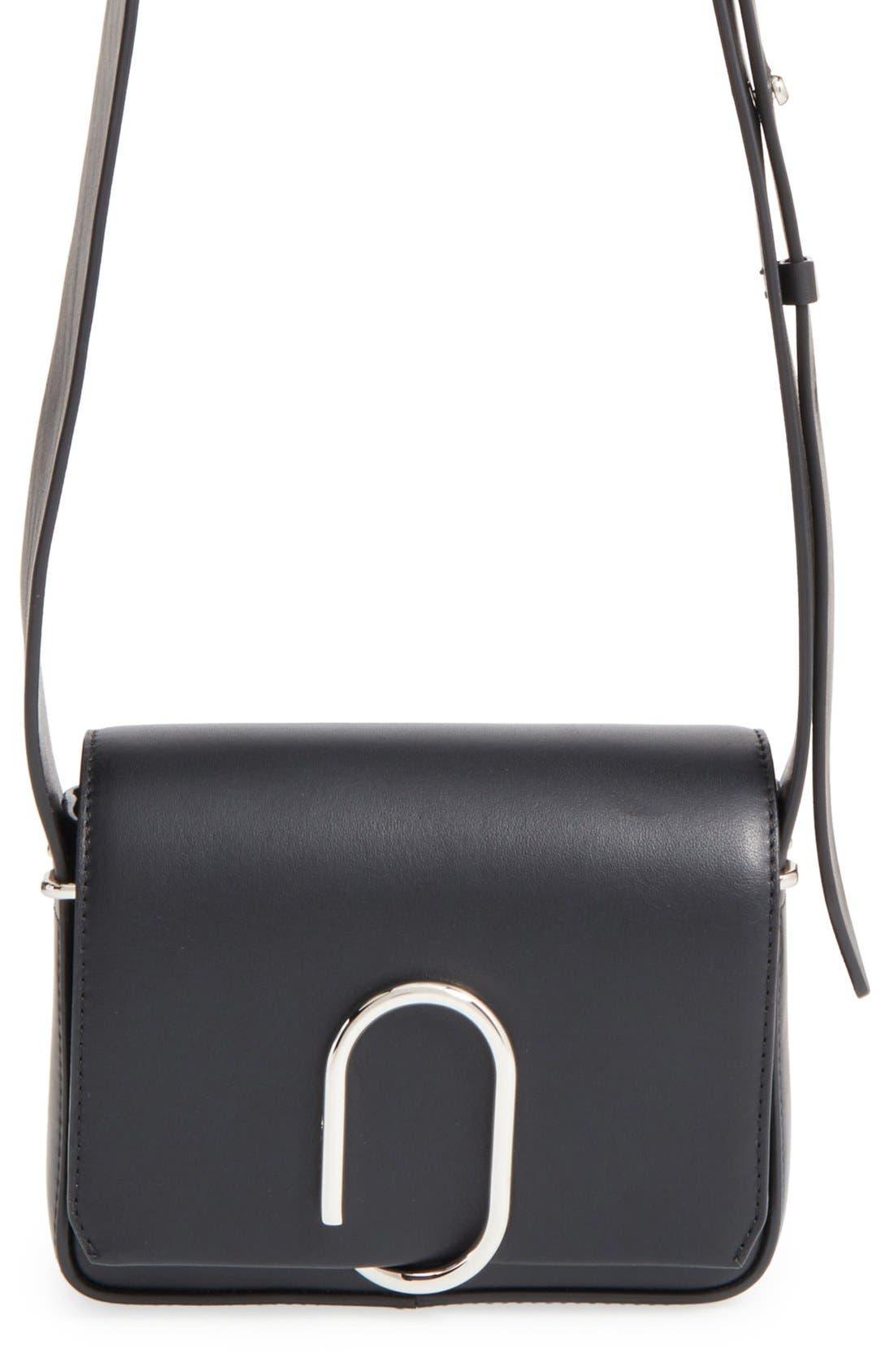 'Mini Alix' Leather Shoulder Bag,                             Main thumbnail 2, color,