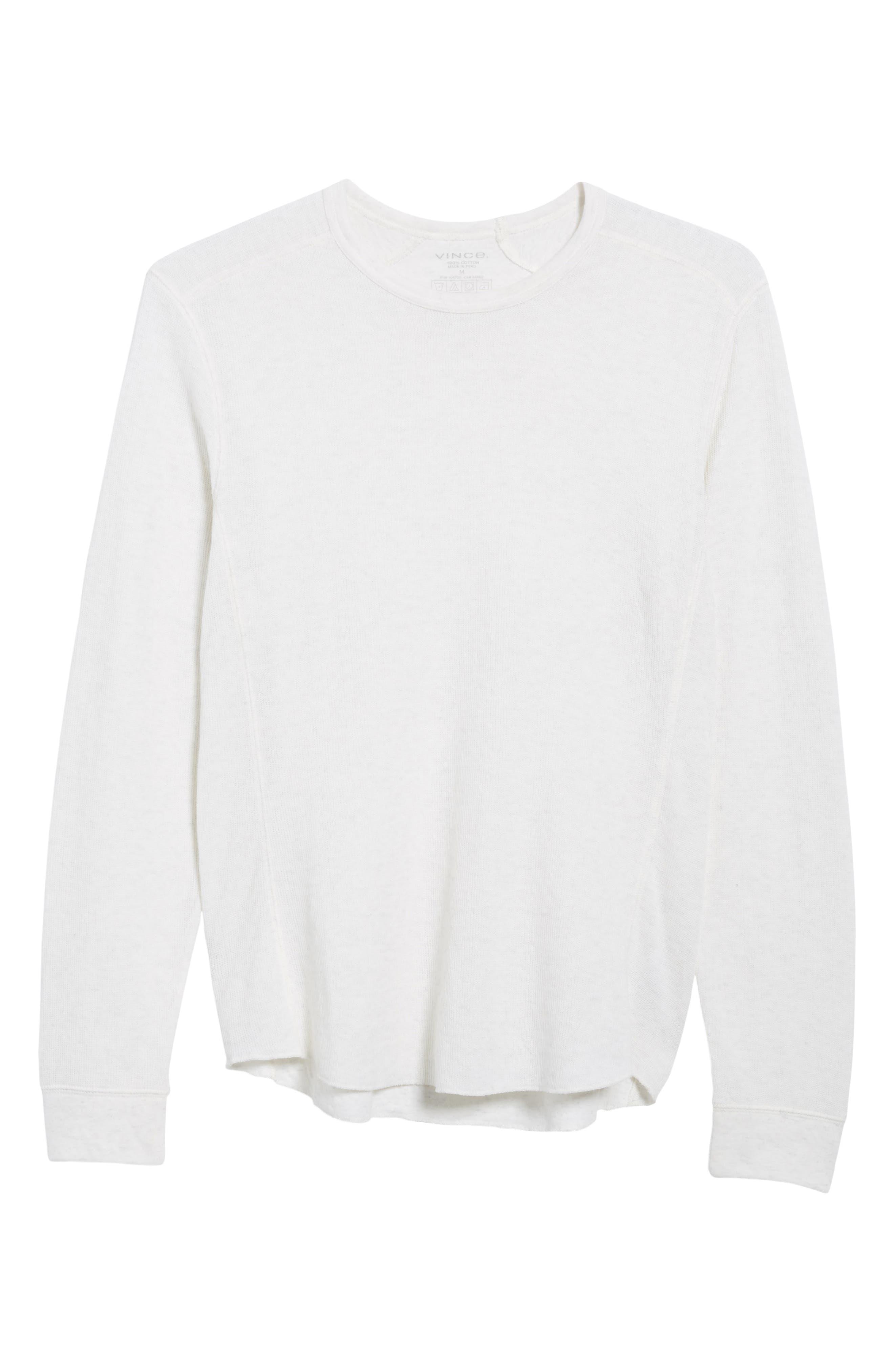 Double Knit Long Sleeve T-Shirt,                             Alternate thumbnail 28, color,