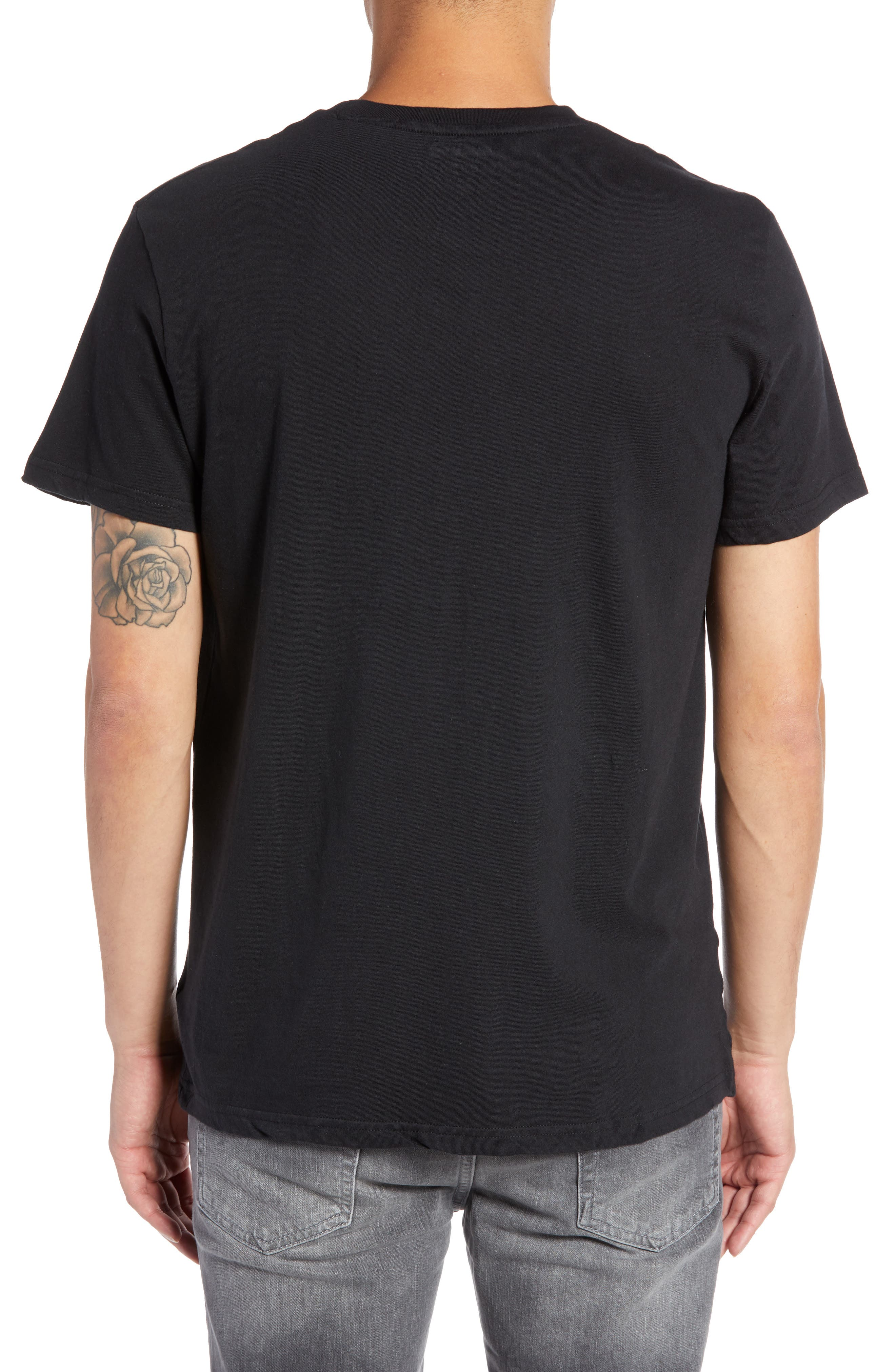 Dream Big Graphic T-Shirt,                             Alternate thumbnail 2, color,                             BLACK