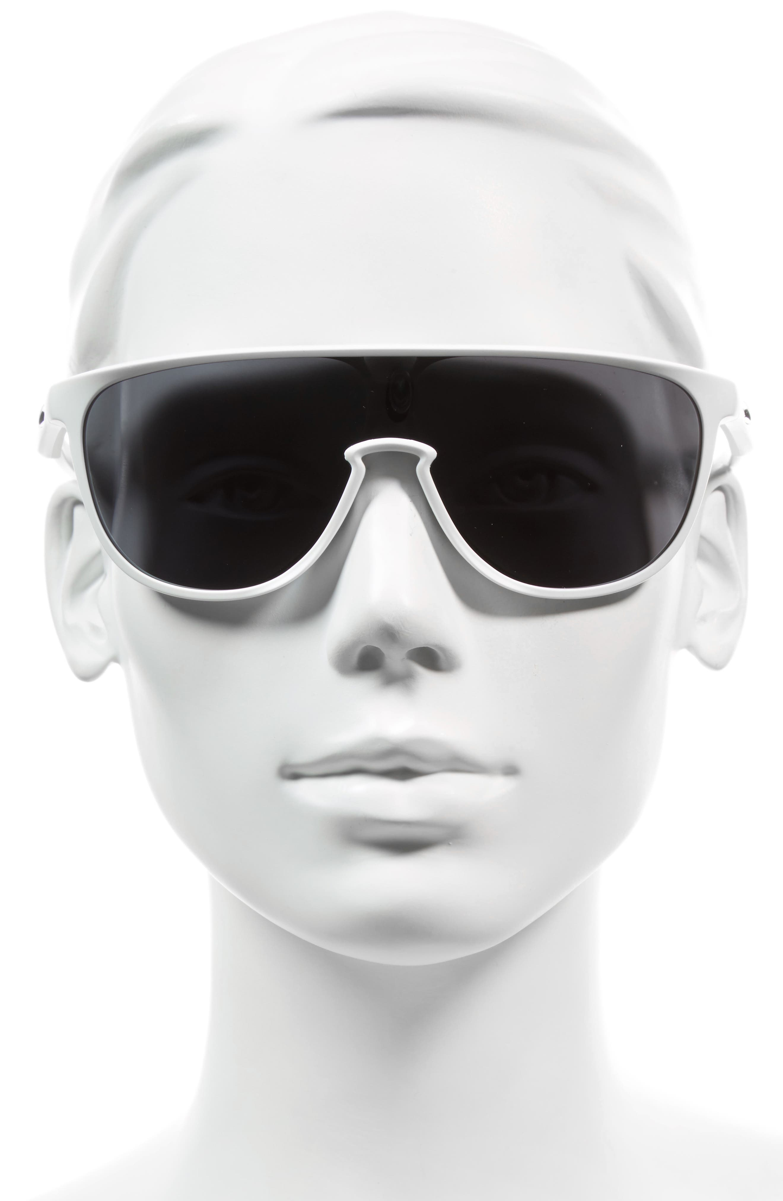 Trillbe 140mm Shield Sunglasses,                             Alternate thumbnail 8, color,