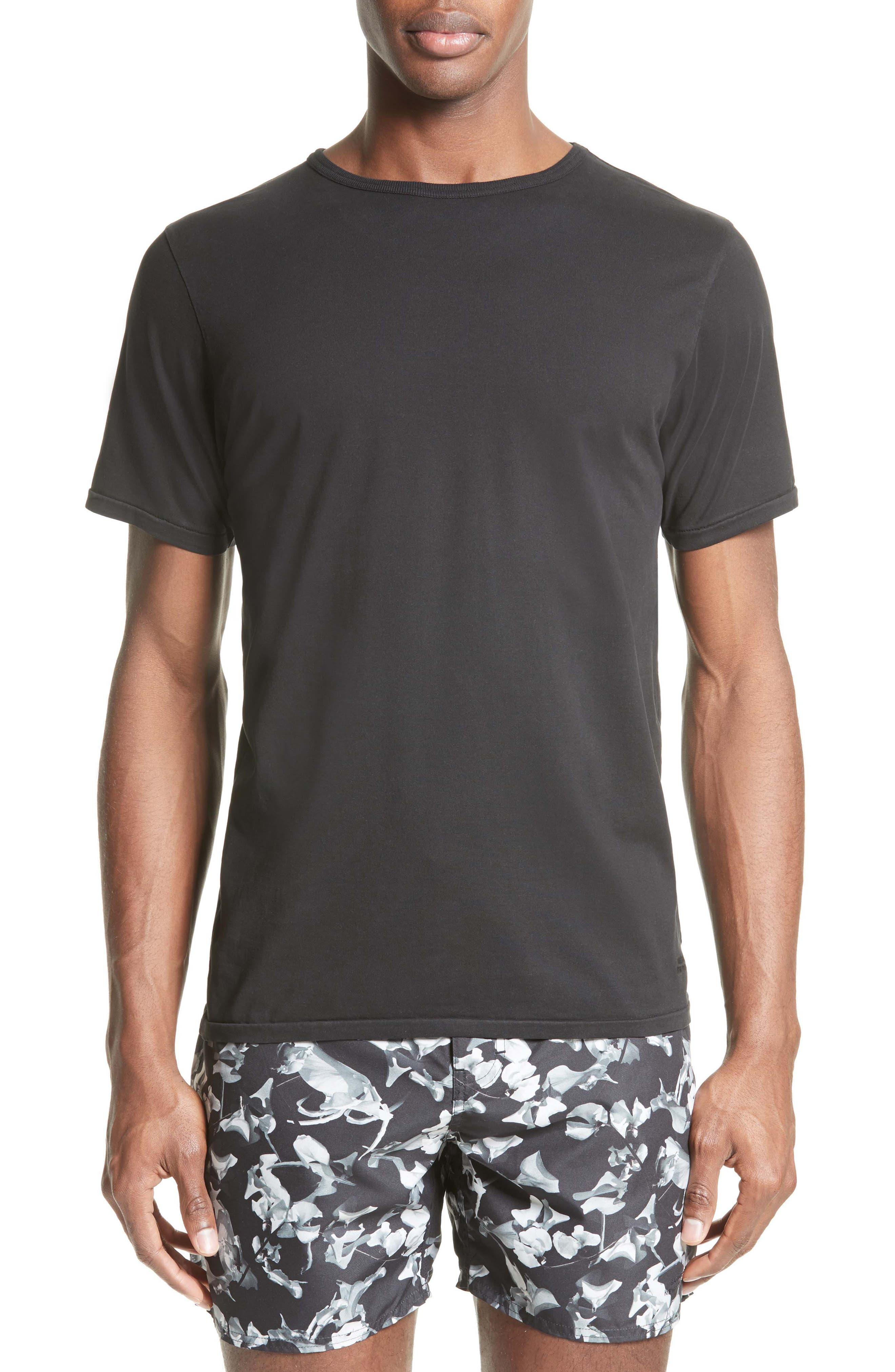 Brandon Pima Cotton T-Shirt,                             Main thumbnail 1, color,                             001