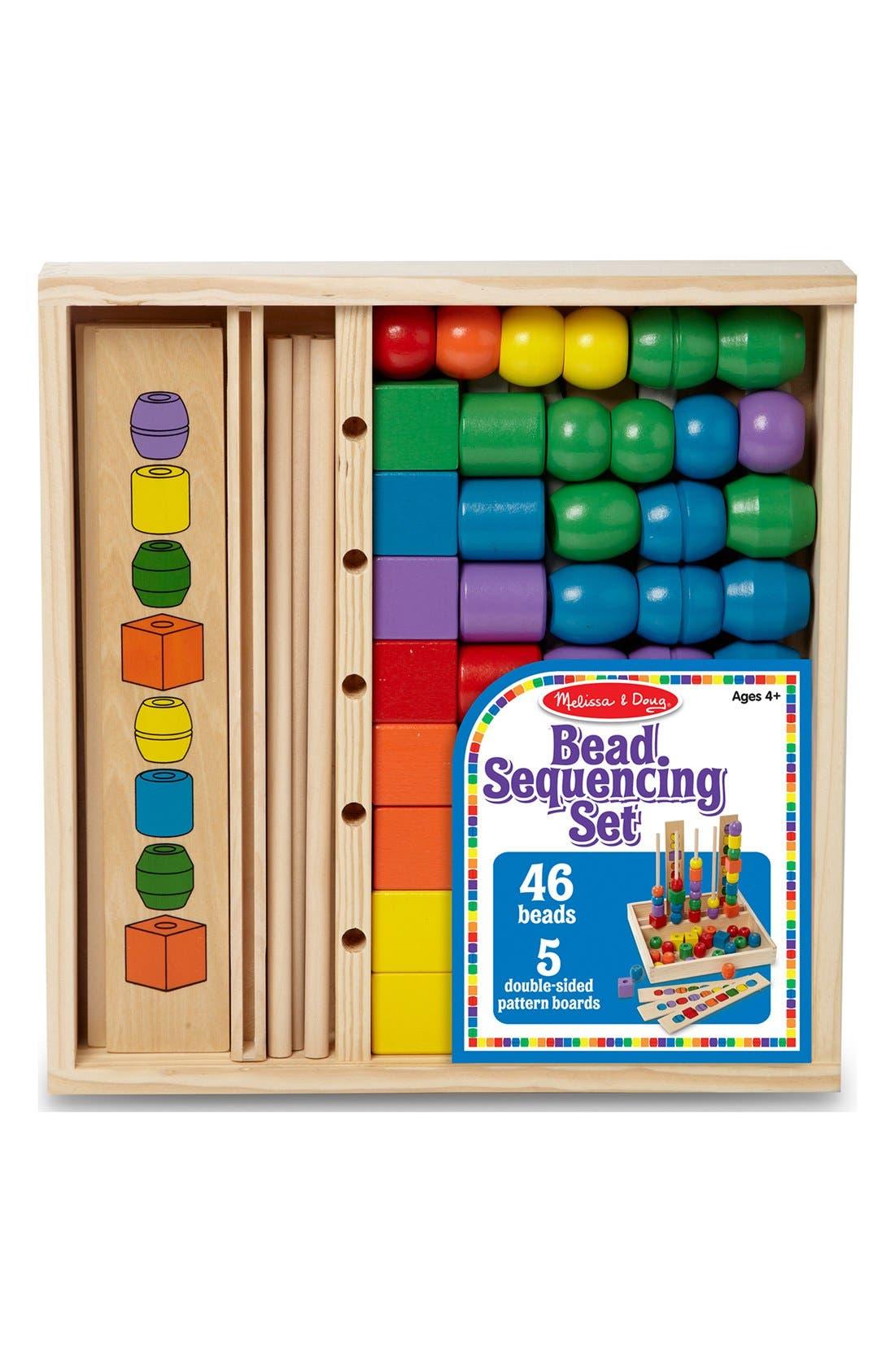 Toddler Melissa  Doug Bead Sequencing Set