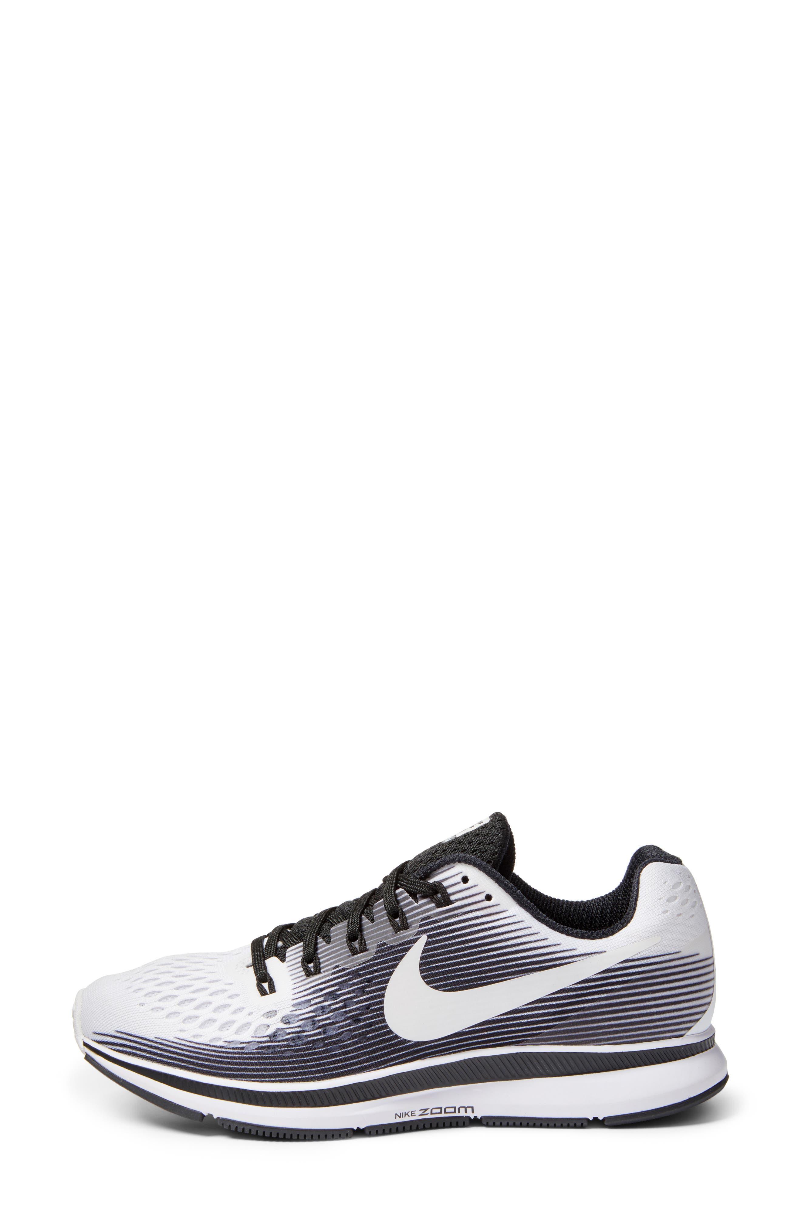 Air Zoom Pegasus 34 LE Running Shoe,                             Alternate thumbnail 3, color,                             100