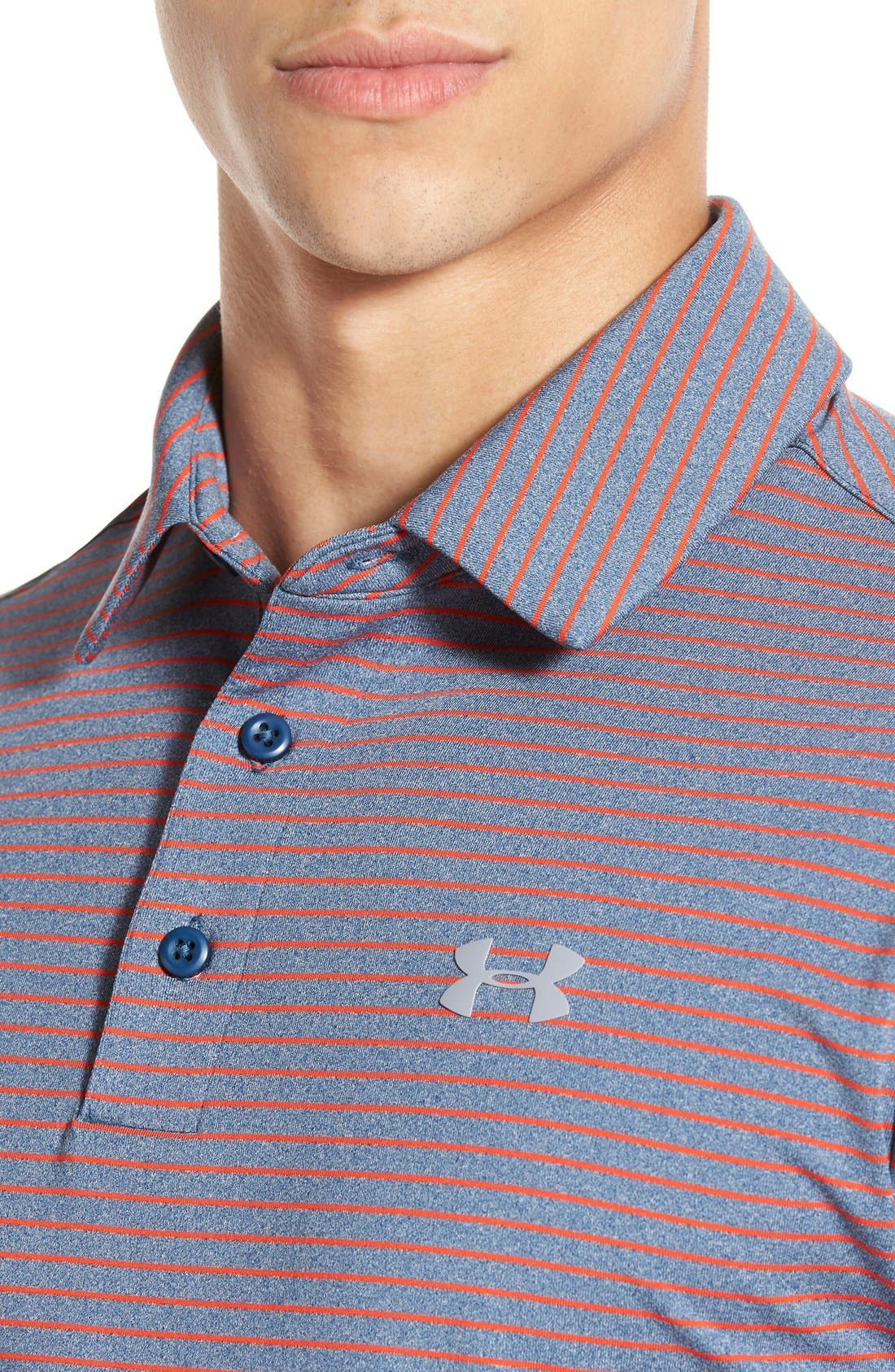 'Playoff' Loose Fit Short Sleeve Polo,                             Alternate thumbnail 265, color,