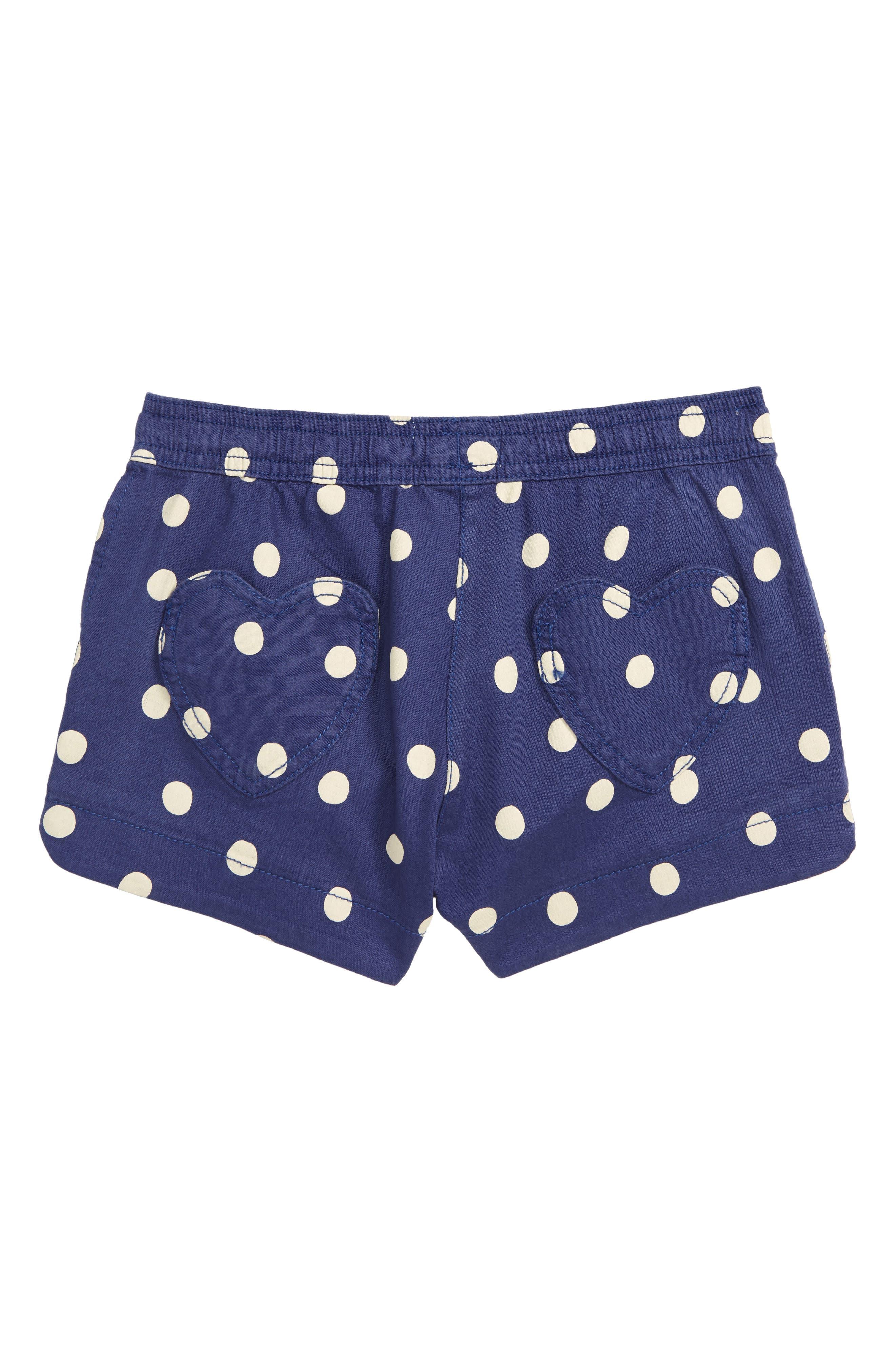 BODEN,                             Heart Pocket Shorts,                             Alternate thumbnail 2, color,                             BLU STARBOARD BLUE/ ECRU SPOT