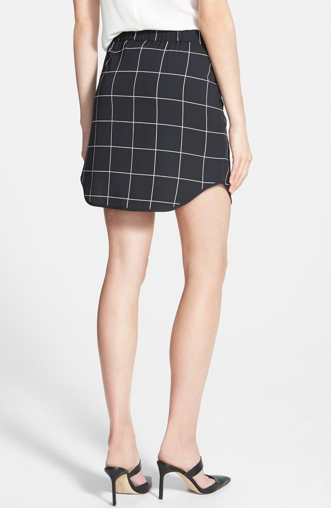 Pull-On Skirt,                             Alternate thumbnail 3, color,                             001