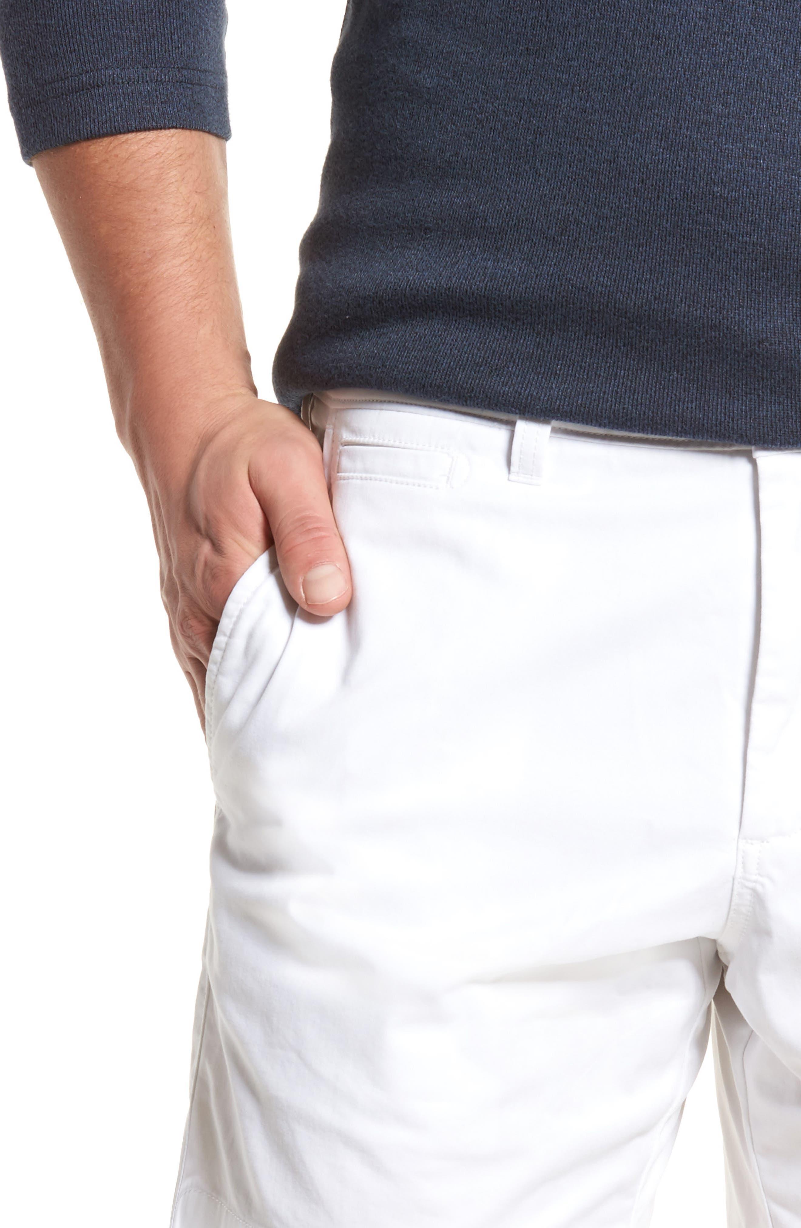 Ballard Slim Fit Stretch Chino 7-Inch Shorts,                             Alternate thumbnail 38, color,