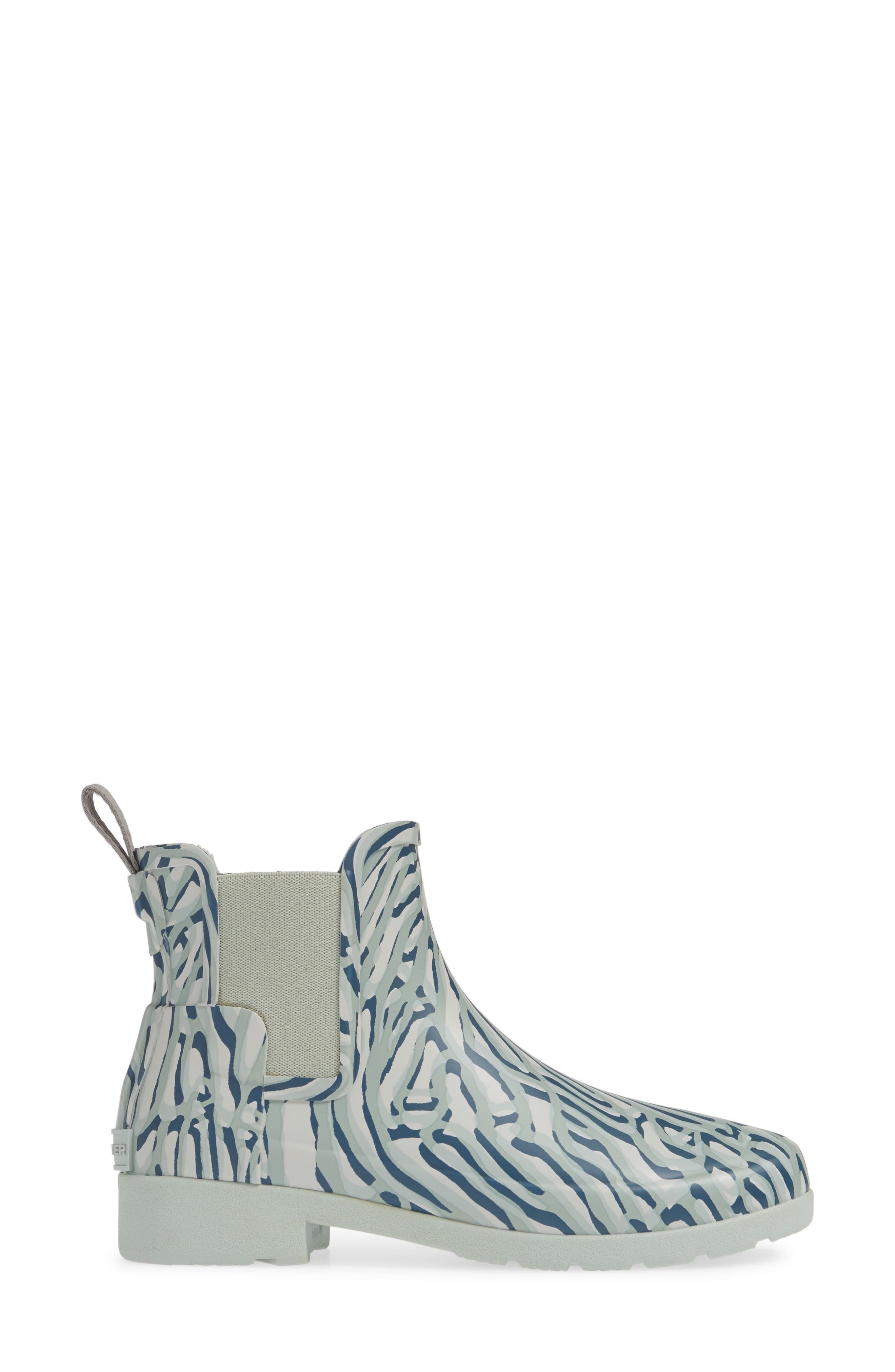HUNTER,                             Refined Chelsea Boot,                             Alternate thumbnail 3, color,                             400