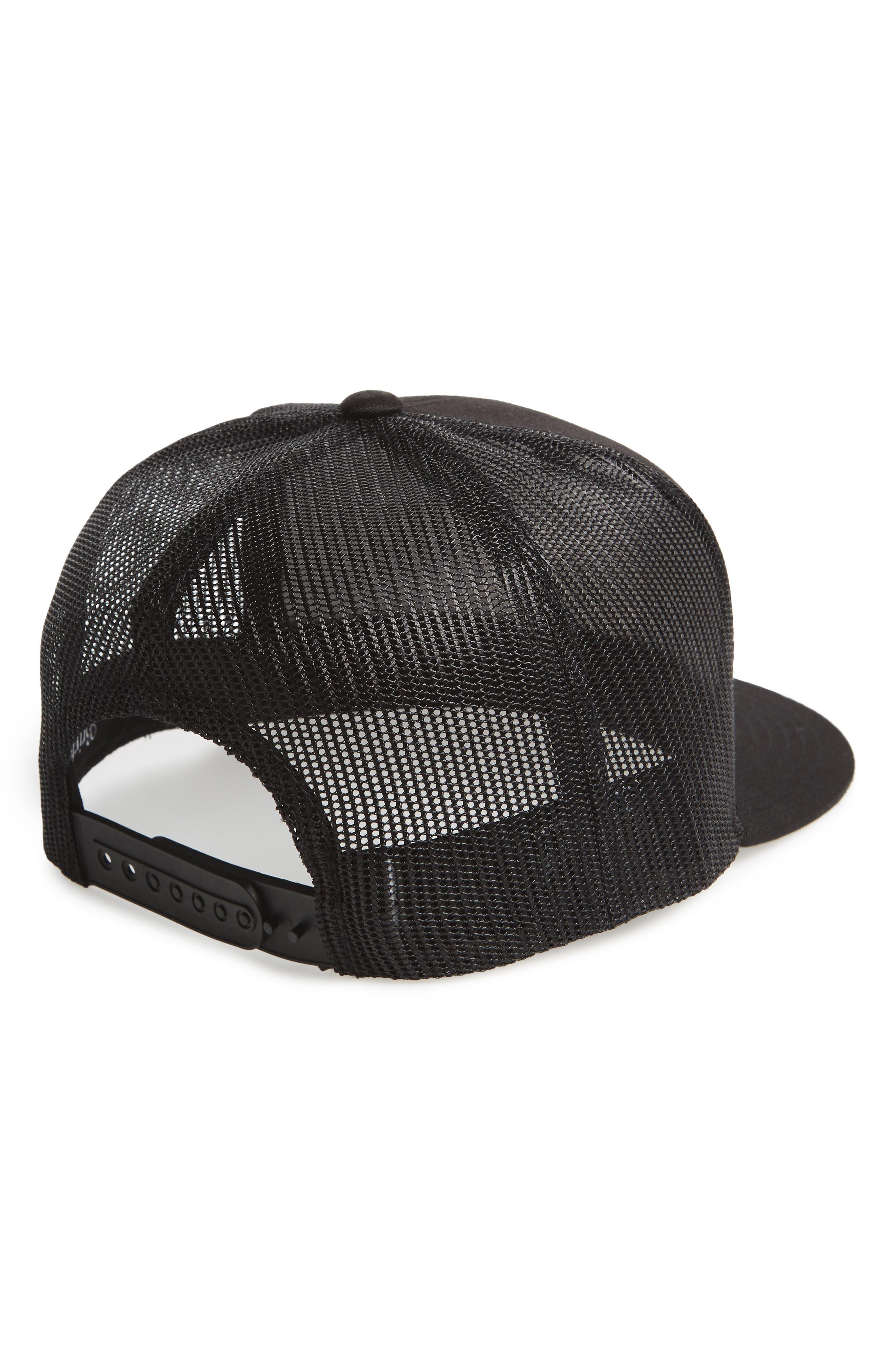 'Brood' Snapback Cap,                             Alternate thumbnail 3, color,                             BLACK/ BLACK