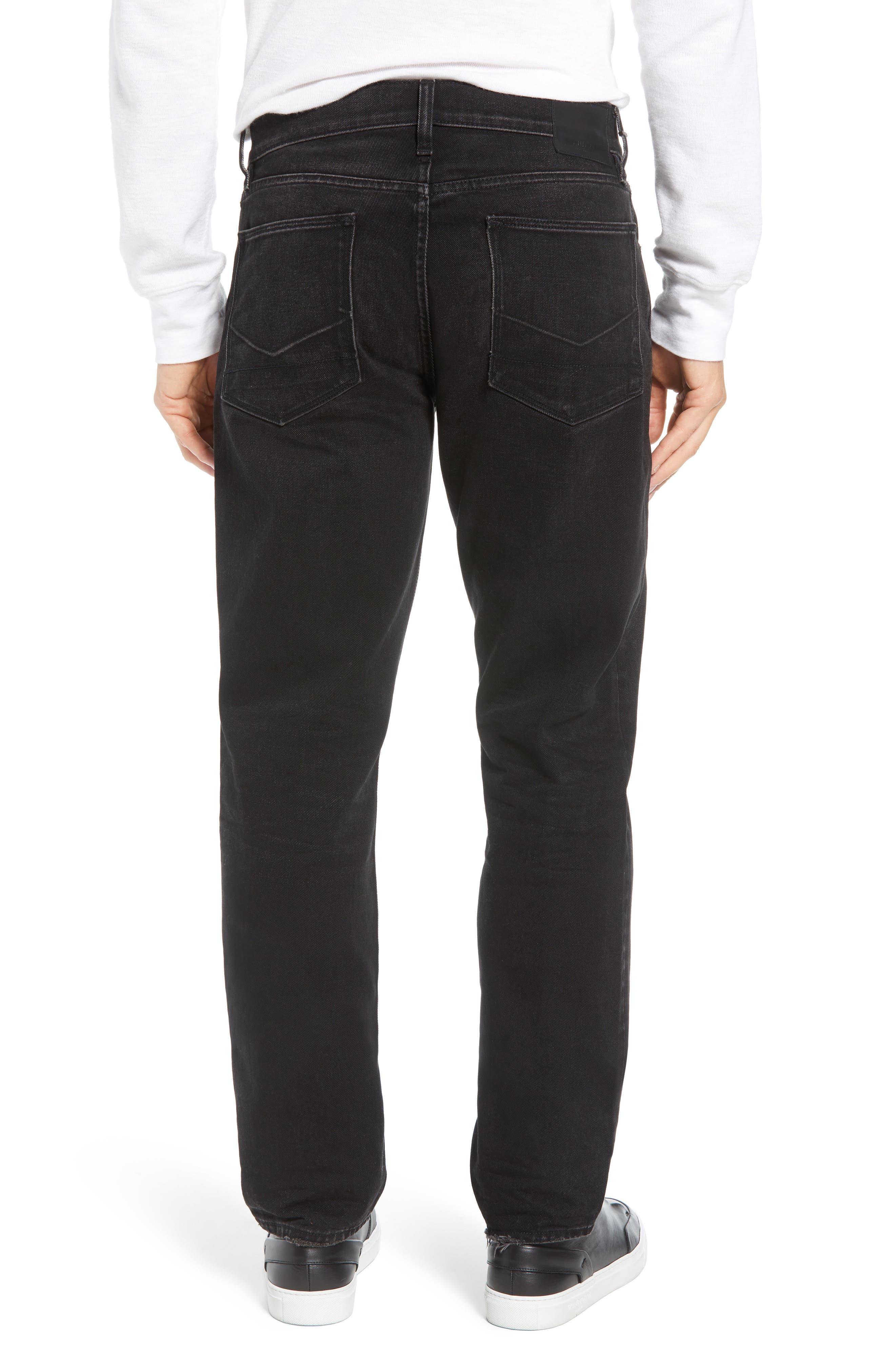 Dillon Straight Leg Jeans,                             Alternate thumbnail 2, color,                             001