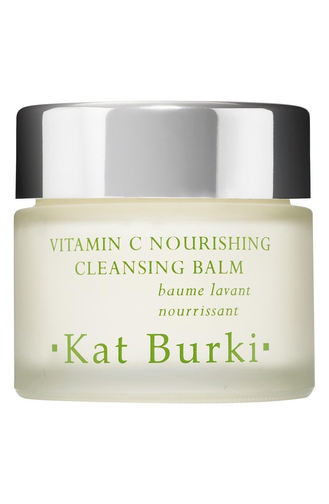 SPACE.NK.apothecary Kat Burki Vitamin C Nourishing Cleansing Balm,                             Main thumbnail 1, color,                             000