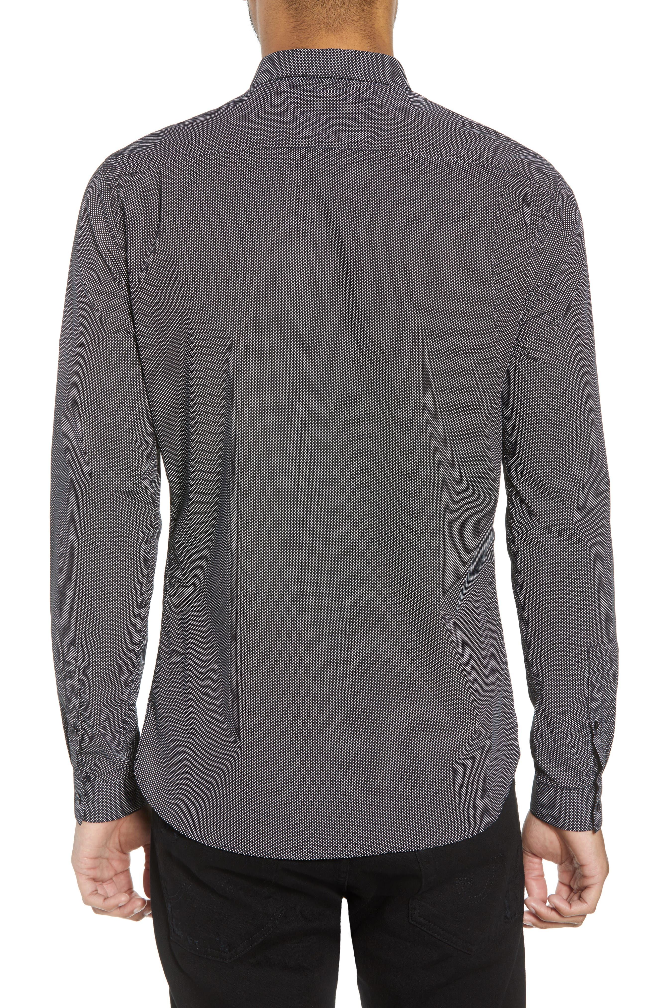 Slim Fit Print Sport Shirt,                             Alternate thumbnail 2, color,                             415