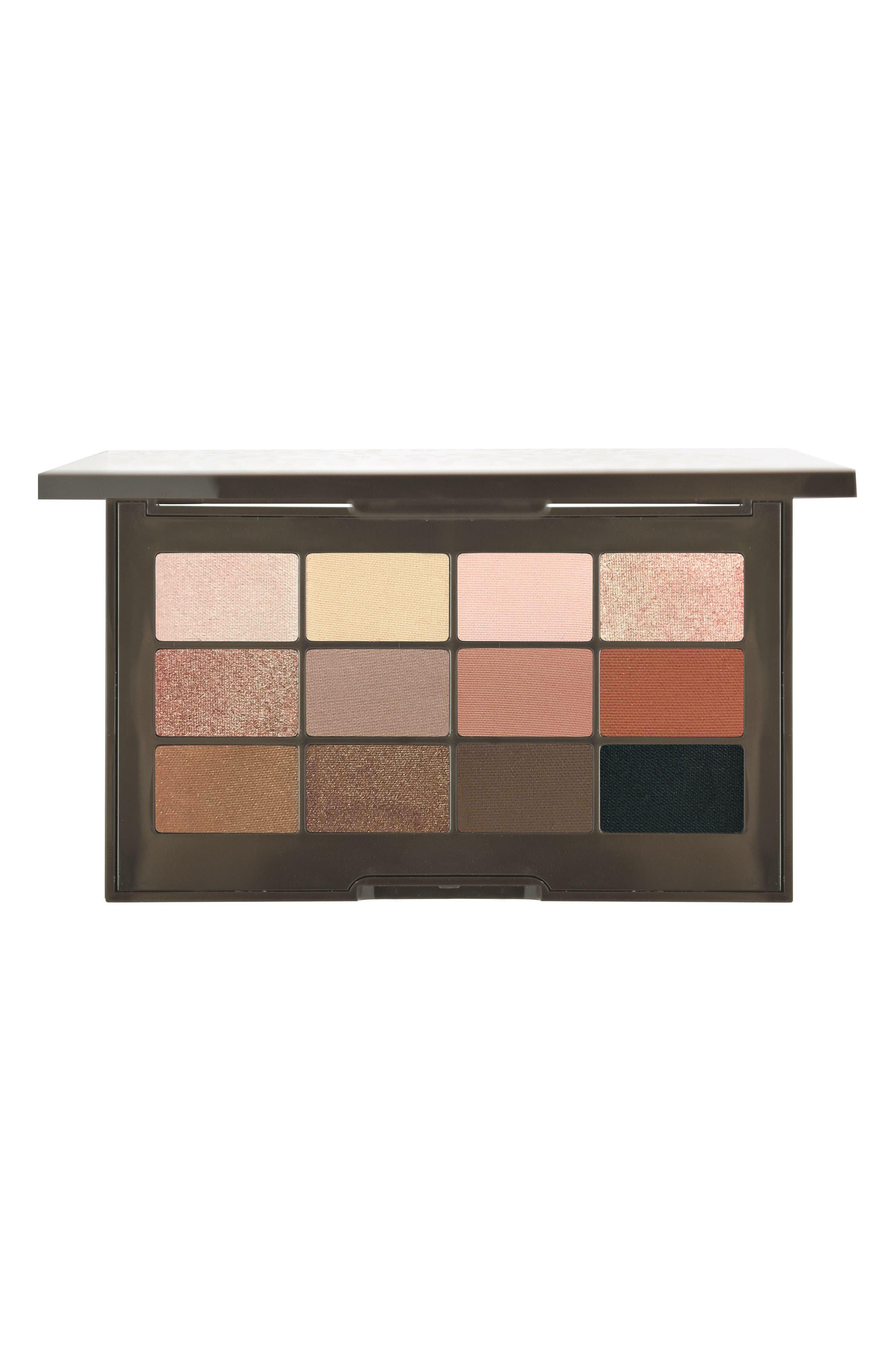 Essential Matte & Shimmer Eyeshadow Palette,                             Main thumbnail 1, color,                             NO COLOR