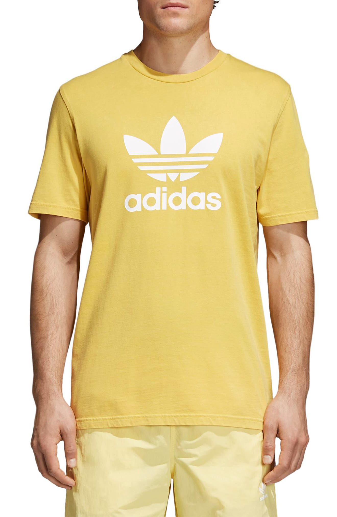 Trefoil T-Shirt,                         Main,                         color, 730