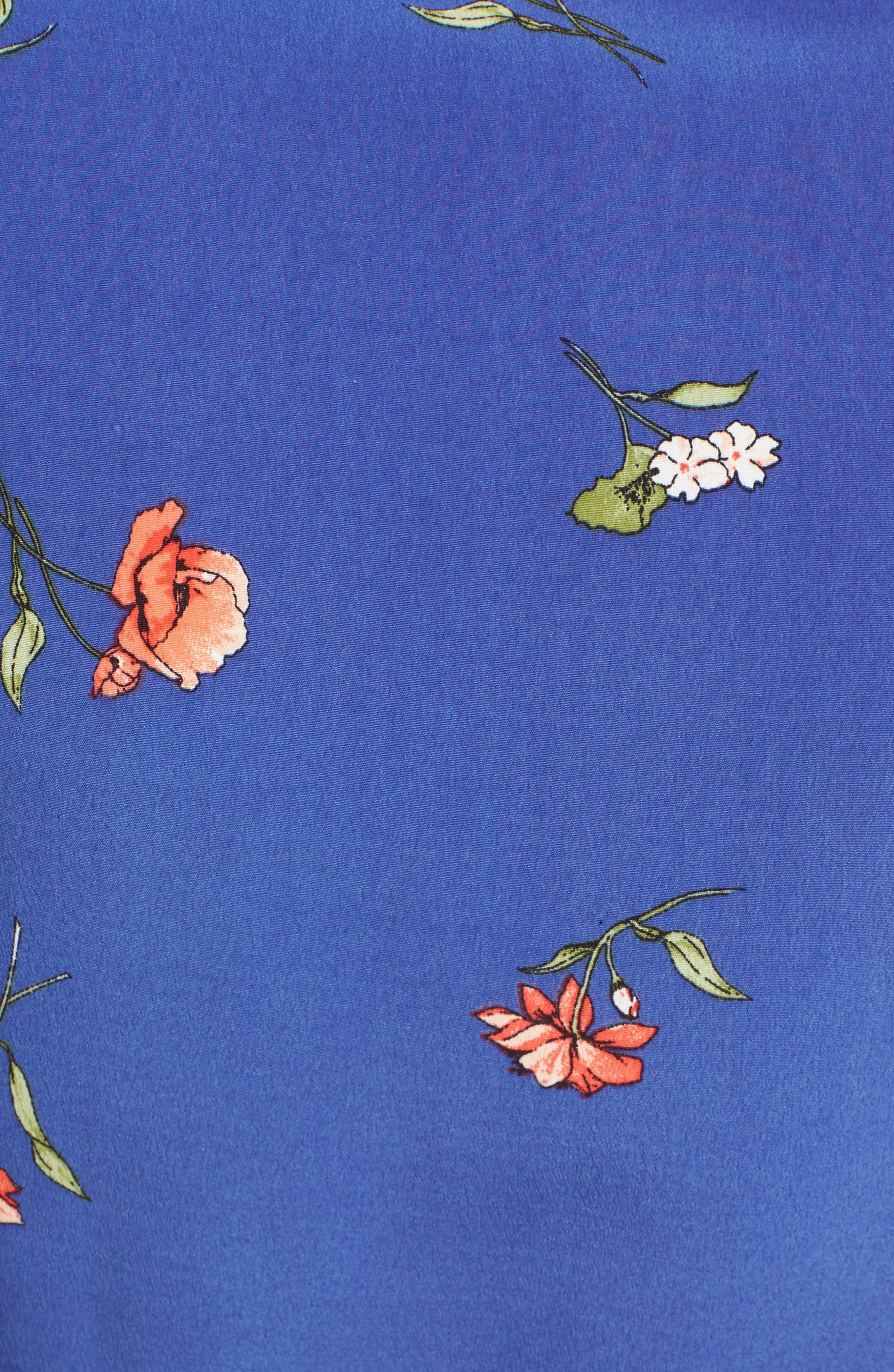 Lucy Floral Wrap Dress,                             Alternate thumbnail 19, color,