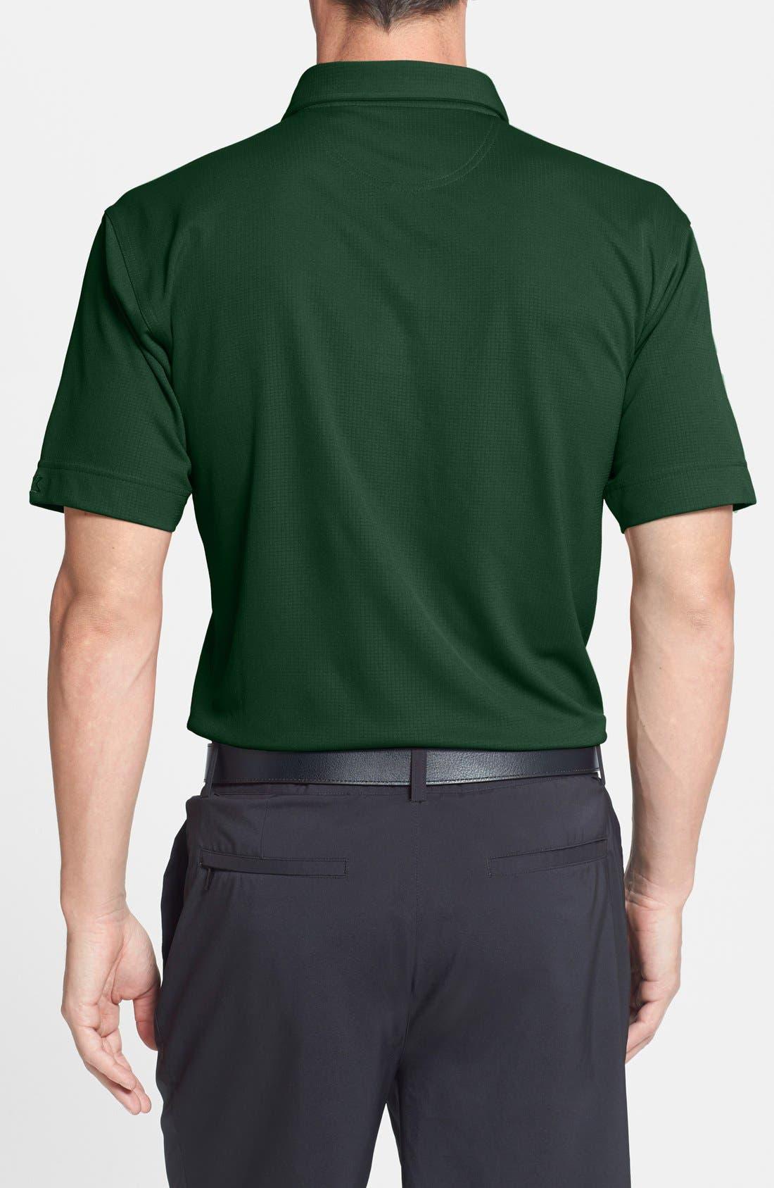 Green Bay Packers - Genre DryTec Moisture Wicking Polo,                             Alternate thumbnail 2, color,                             377