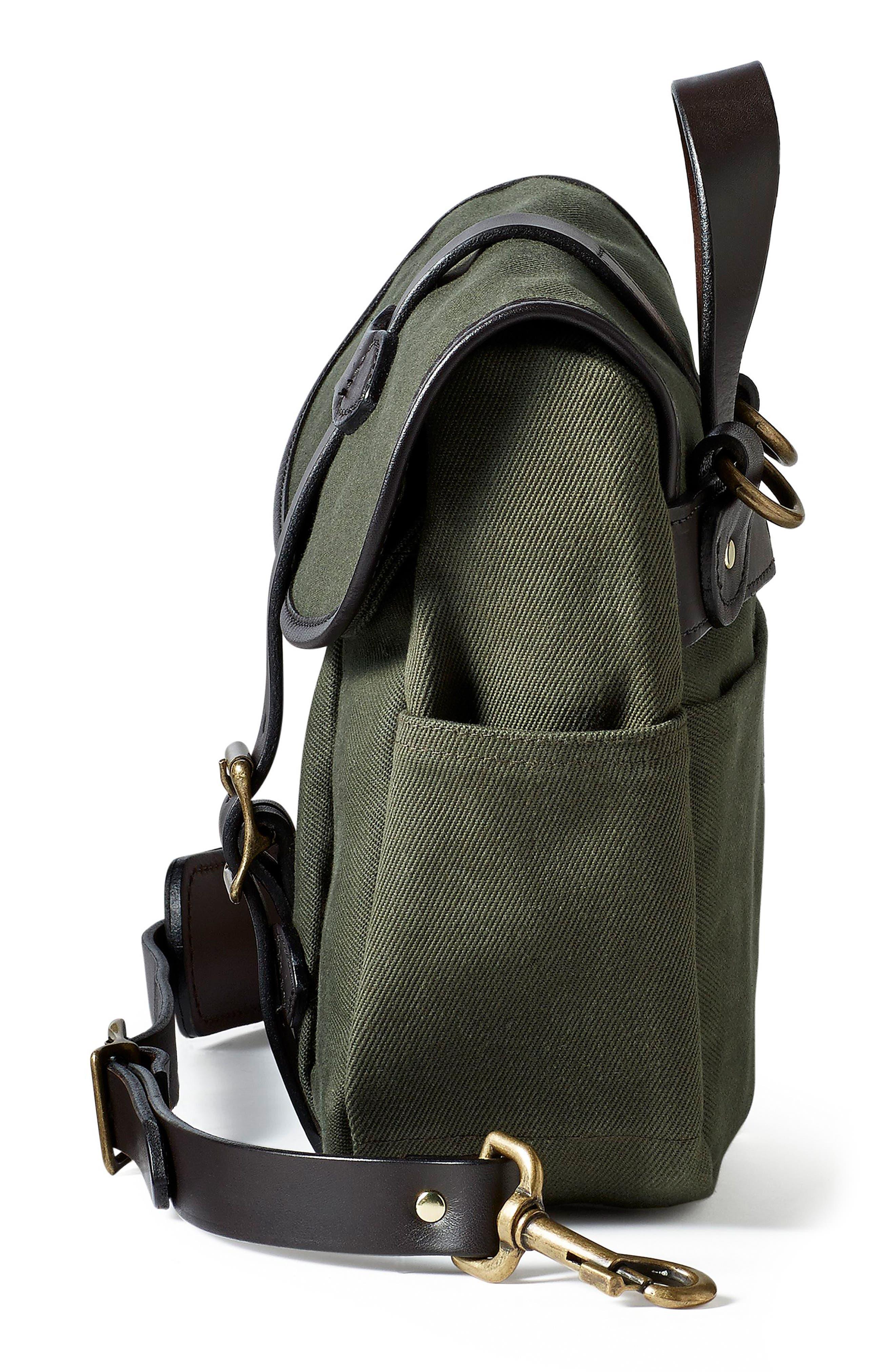 Small Field Bag,                             Alternate thumbnail 4, color,                             OTTER GREEN