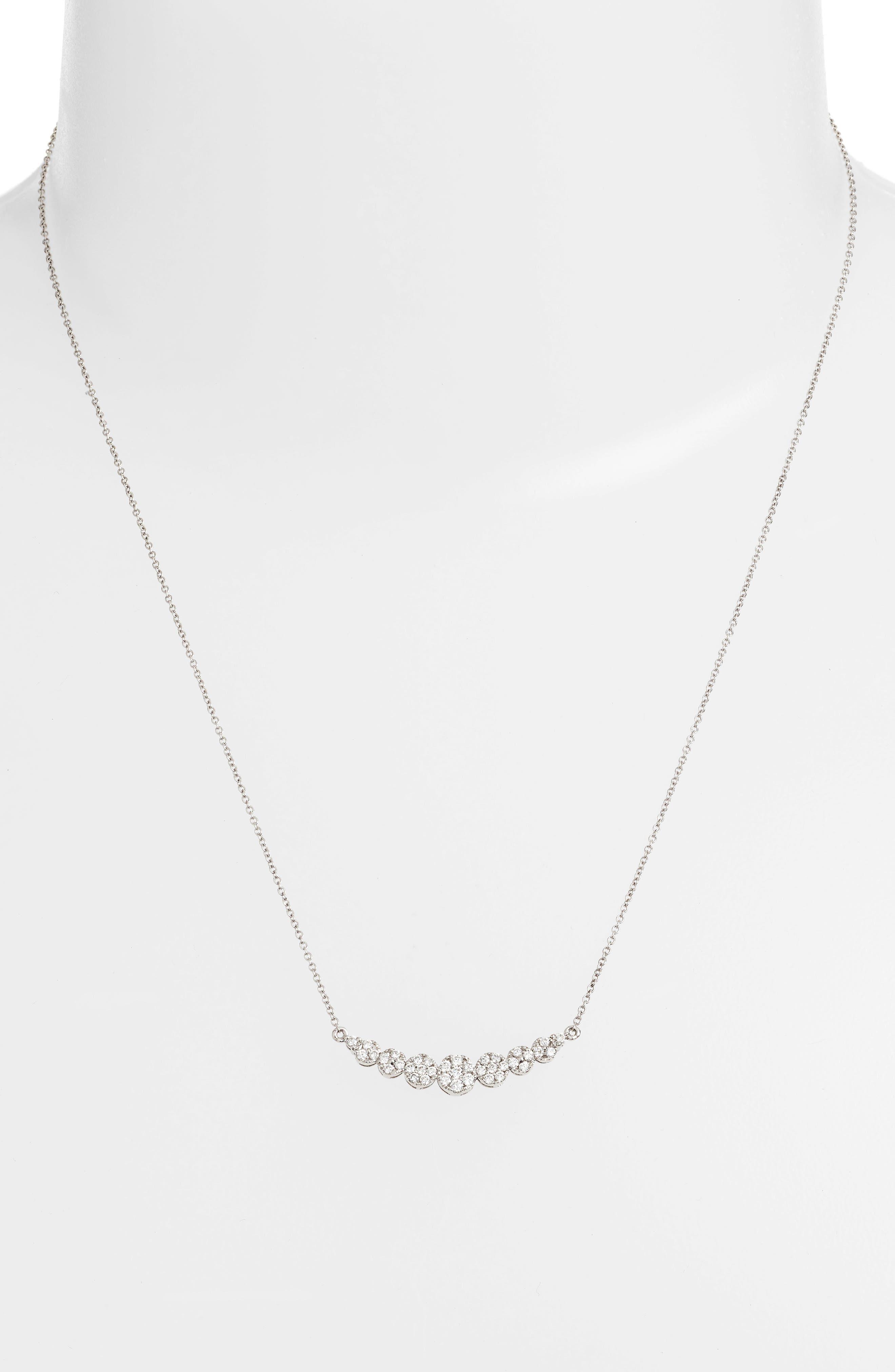 BONY LEVY,                             'Liora' Diamond Pendant Necklace,                             Alternate thumbnail 4, color,                             711