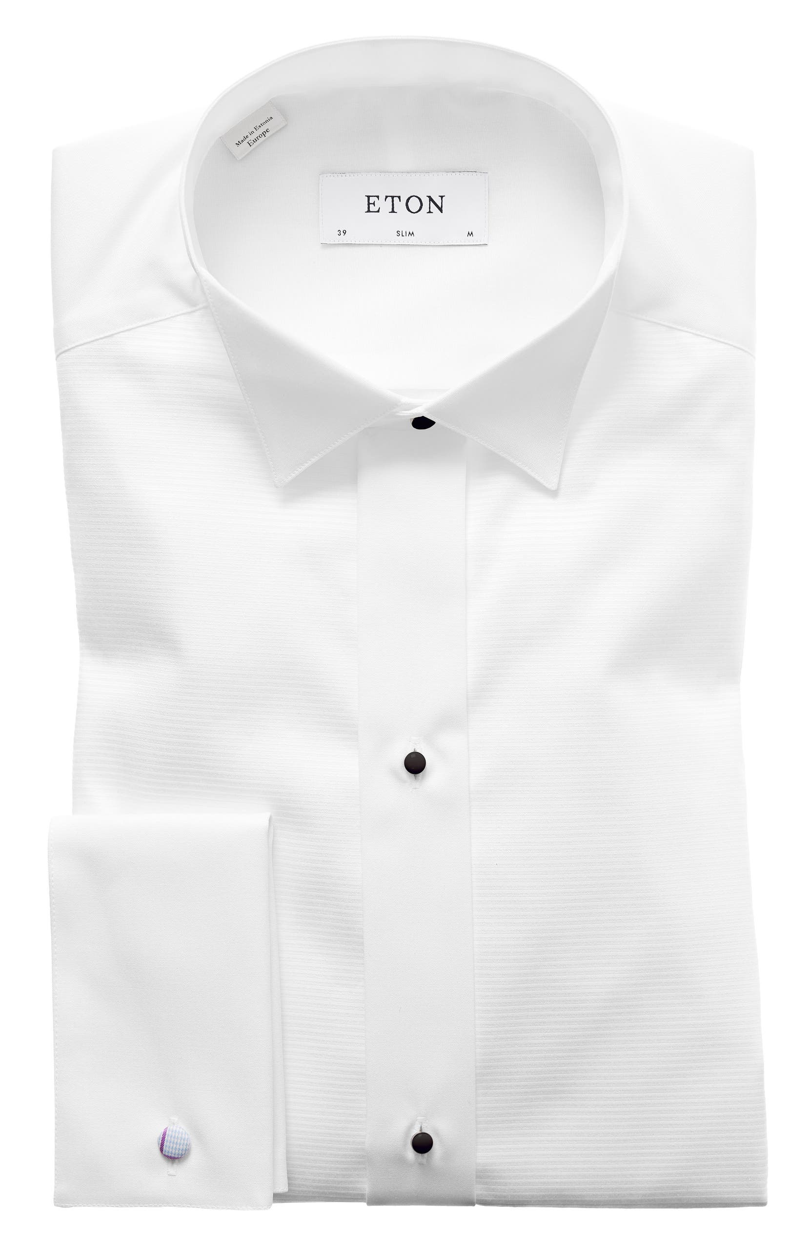 Eton Slim Fit Wing Collar Dress Shirt Nordstrom